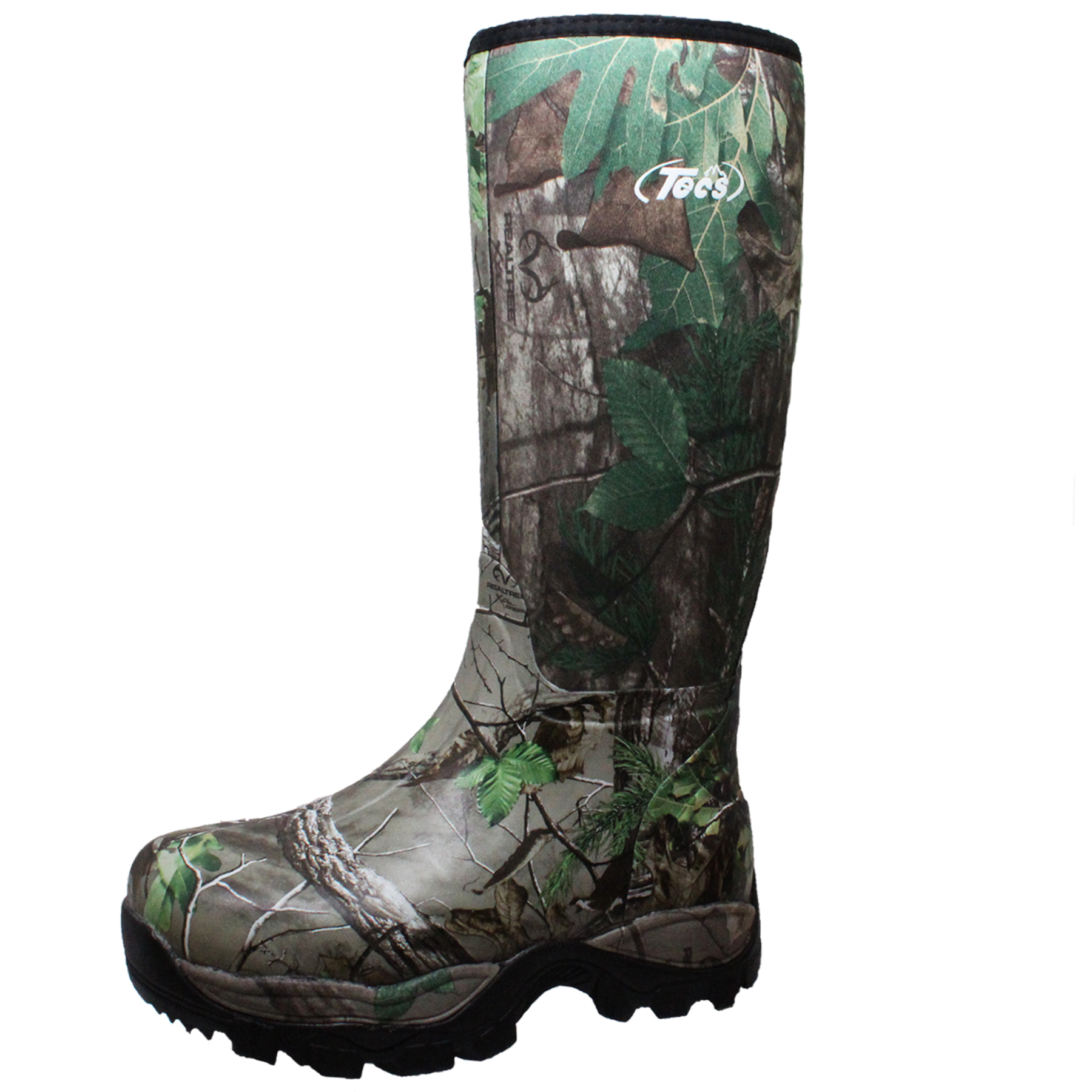 """Tecs Men's 16"""" Camo Waterproof Rubber Boot PartNumber: 3ZZVA98394612P MfgPartNumber: 9735"""