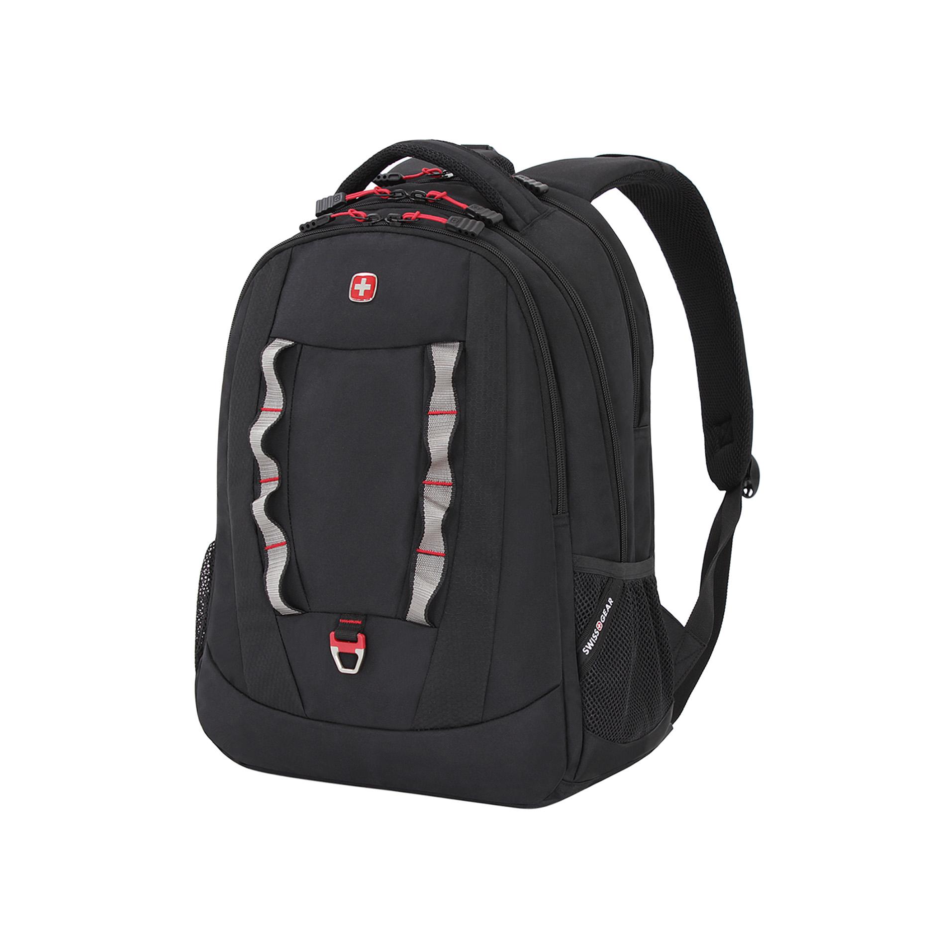 Swiss Gear Birs Laptop Backpack – Black/Red PartNumber: 01409921000P KsnValue: 9193288 MfgPartNumber: 6920202416