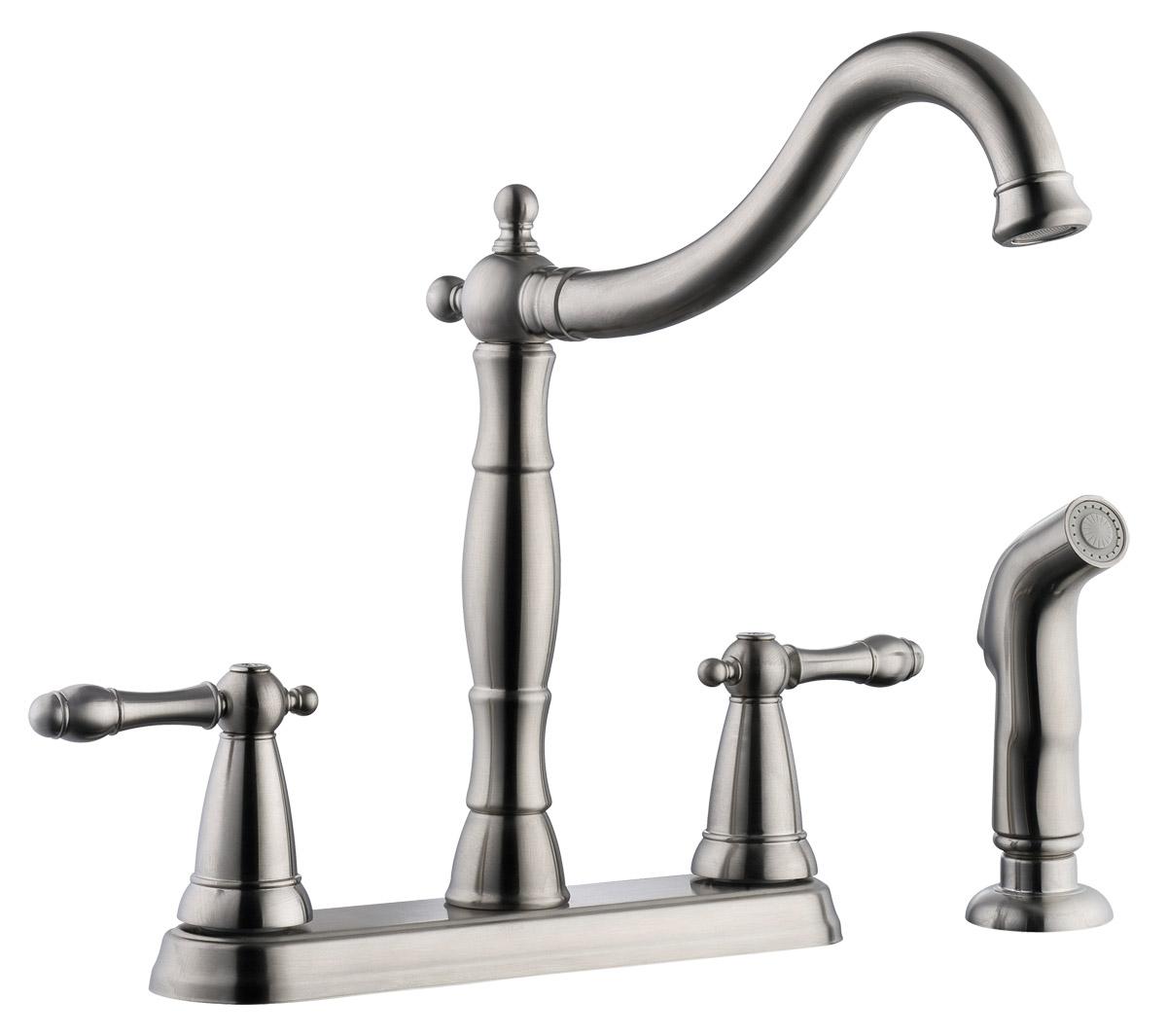 Design House 523241 Oakmont 2-Handle Kitchen Faucet With