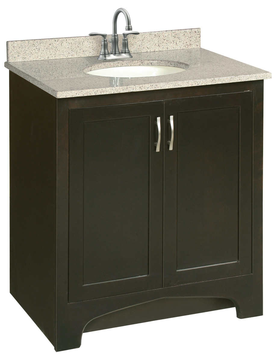 Design House 539593 Ventura Espresso Vanity Cabinet with 2-Doors 30-Inches by 33.5-Inches