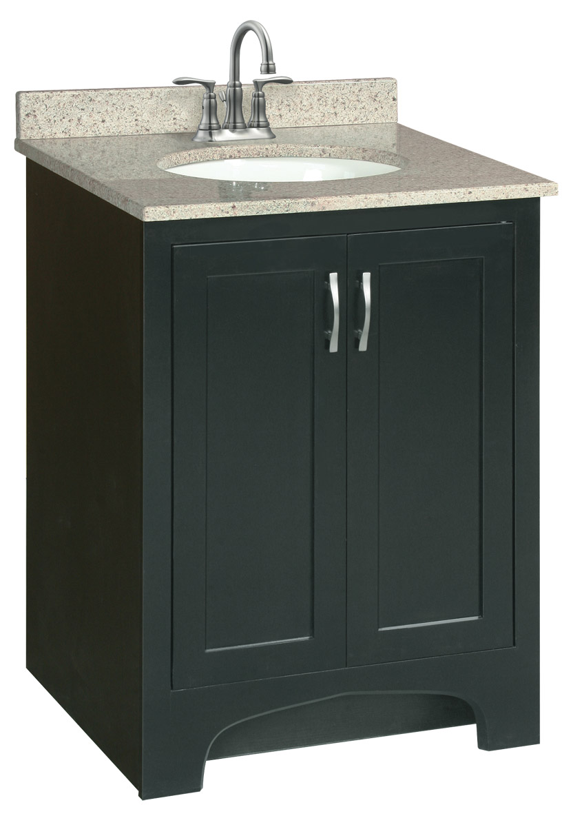 Design House 539585 Ventura Espresso Vanity Cabinet with 2-Doors 24-Inches by 33.5-Inches