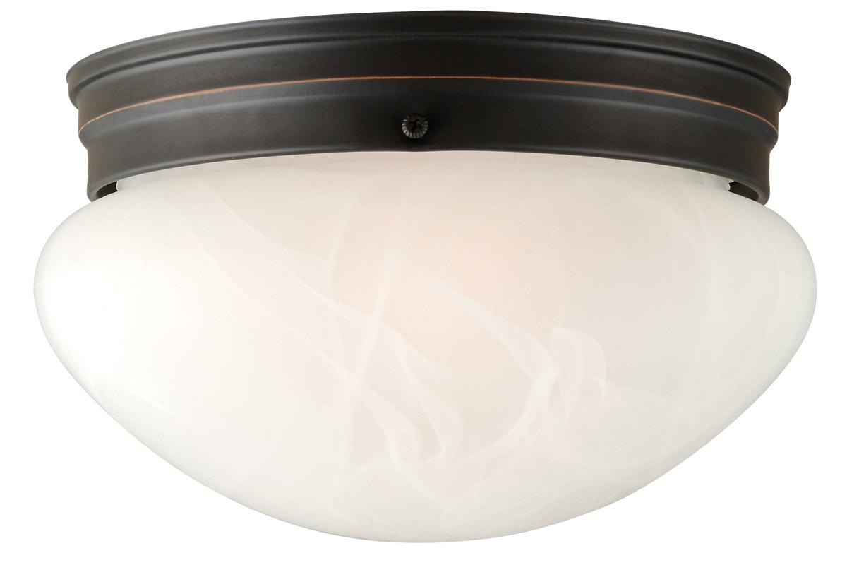 Design House 514539 Millbridge 2-Light 9.5-Inch Ceiling Mount, Oil Rubbed Bronze Finish