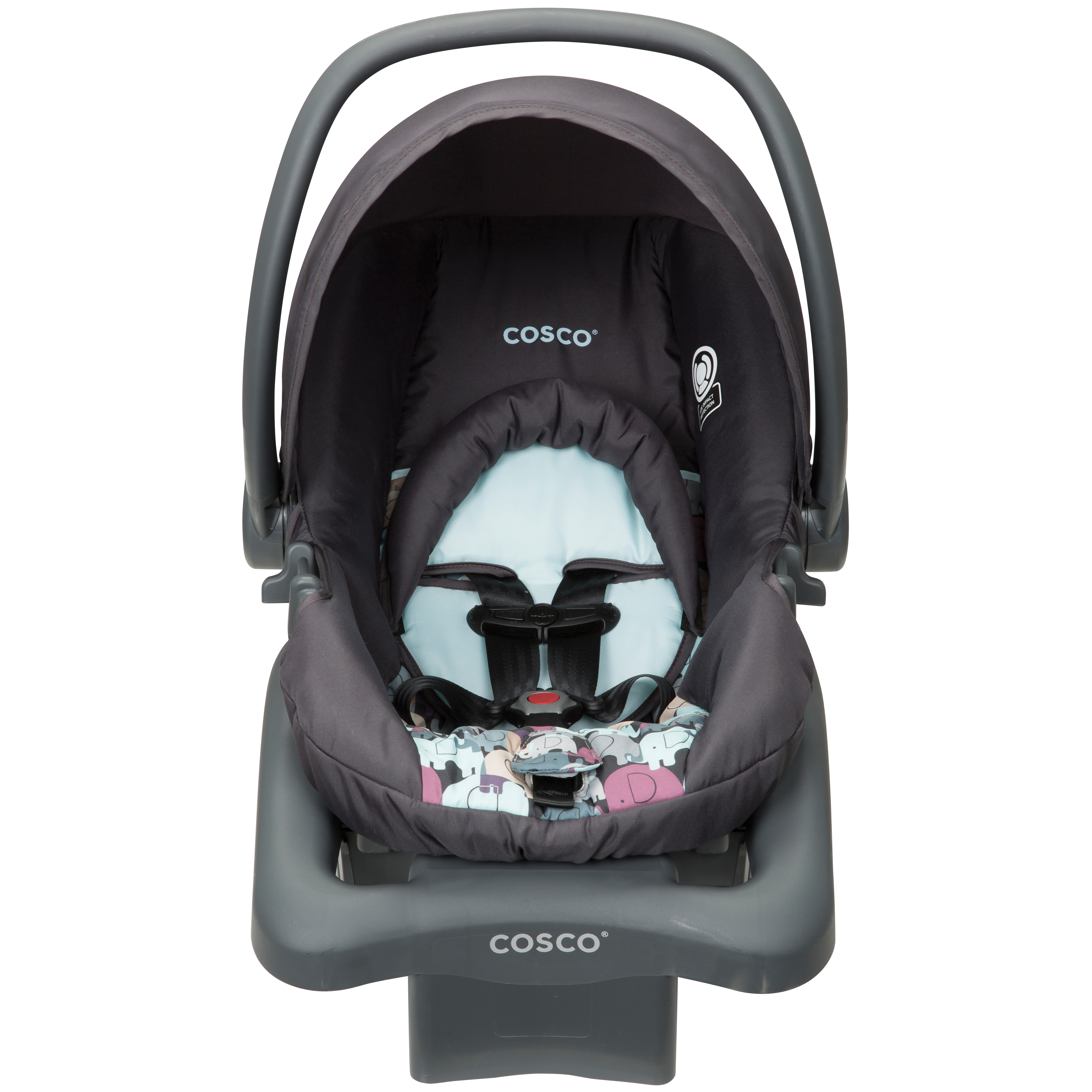 Cosco Light N Comfy DX Infant Car Seat - Elephant Puzzle