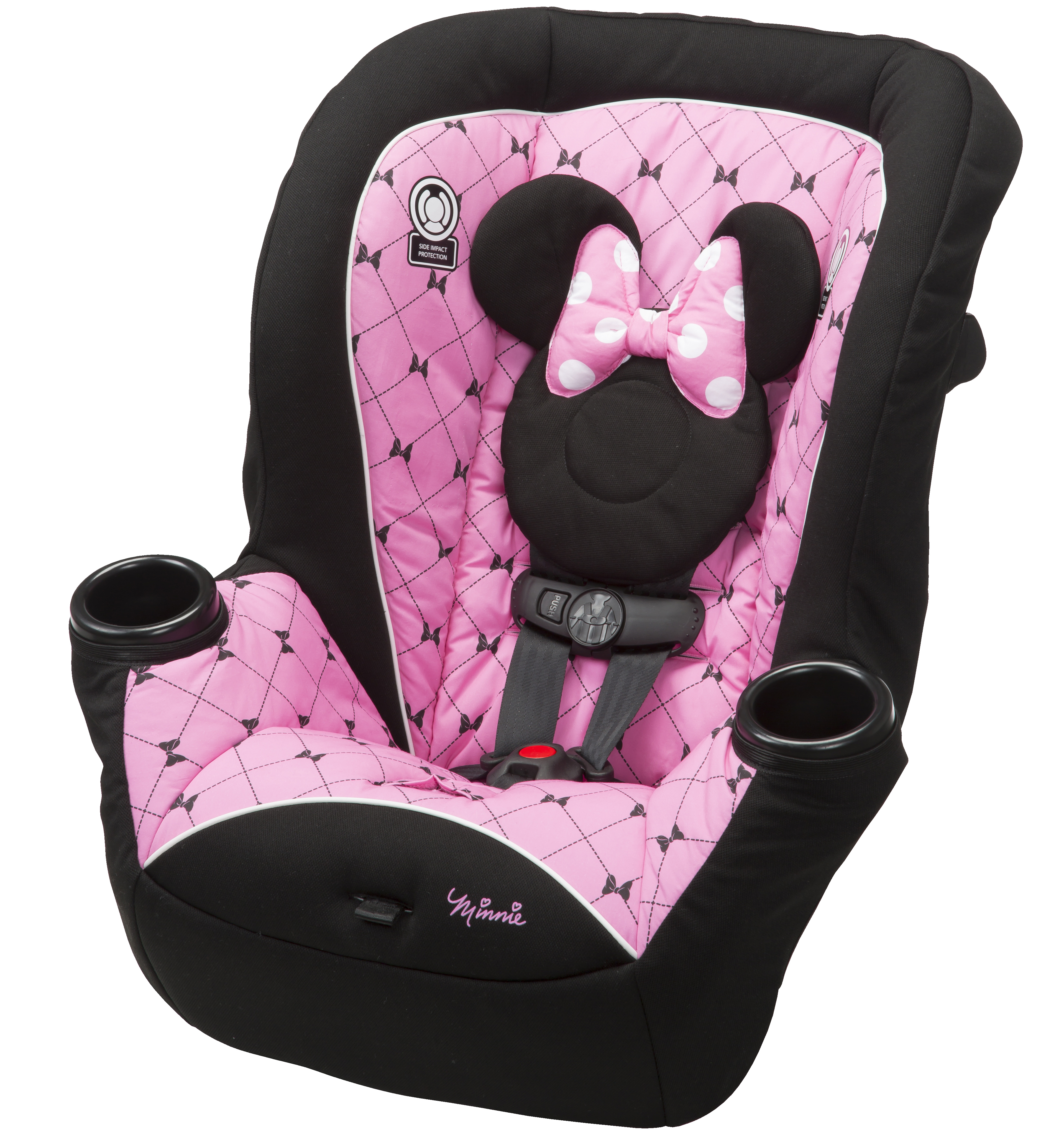 Disney APT 40 Convertible Car Seat - Kriss Kross Minnie PartNumber: 04927665000P KsnValue: 04927665000 MfgPartNumber: CC118EET