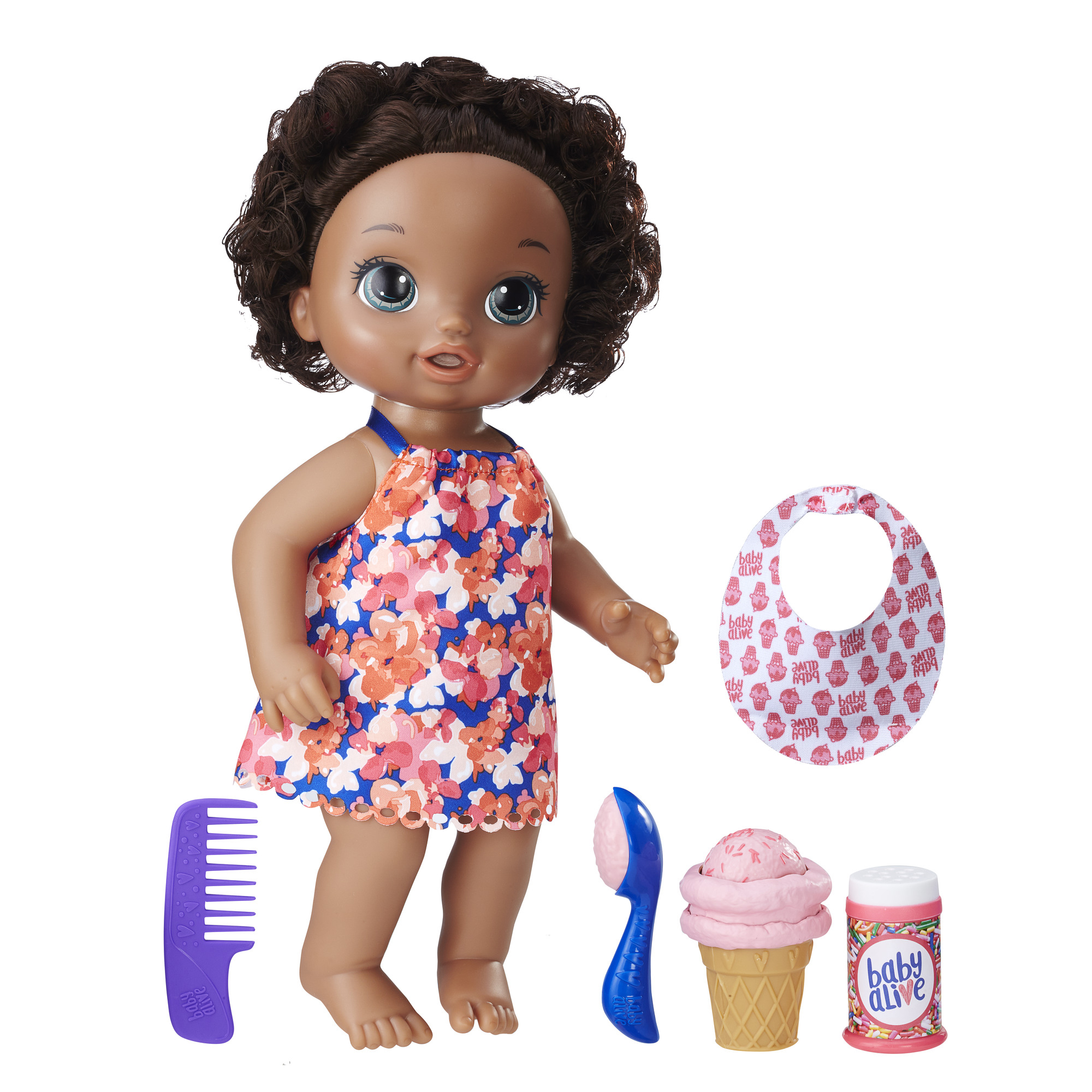 Baby Alive Magical Scoops Baby African American PartNumber: 004W009279563001P KsnValue: 9279563 MfgPartNumber: C1088AS00