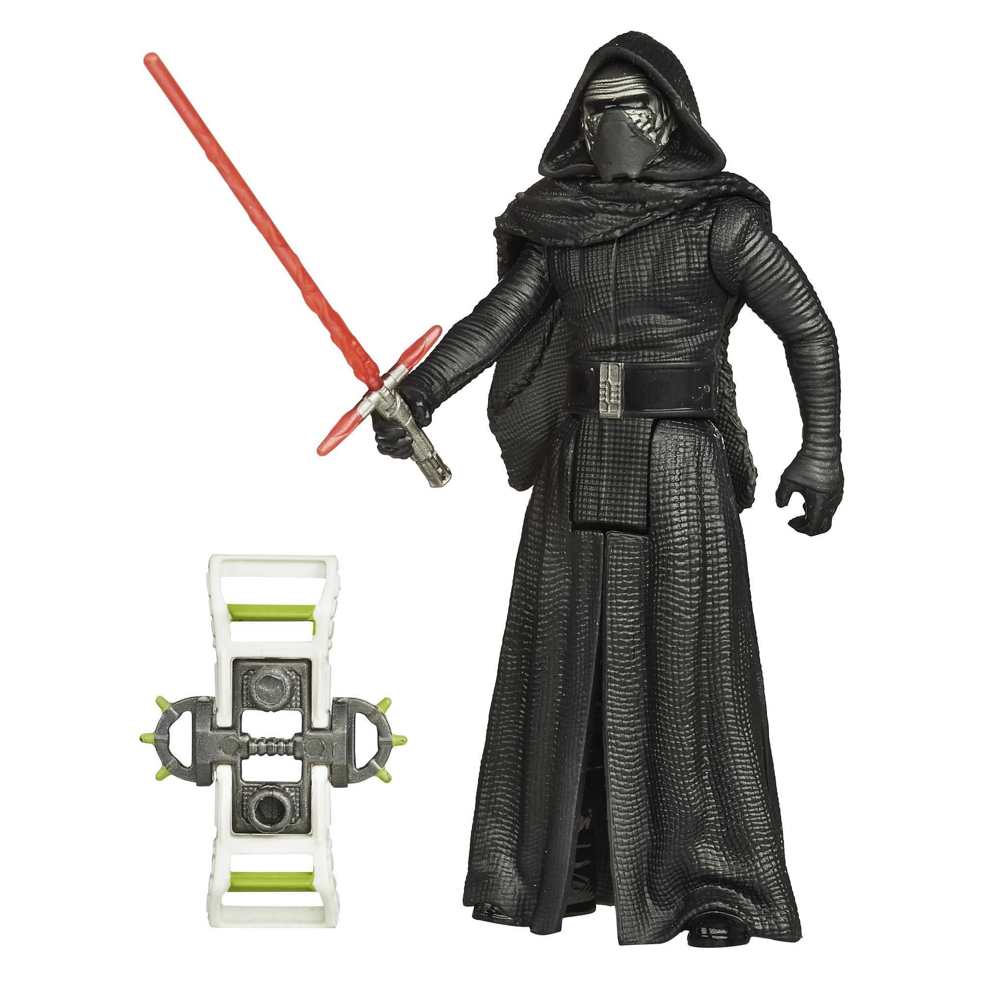 Disney Star Wars The Force Awakens 3.75-Inch Figure Forest Mission Kylo Ren PartNumber: 004W007273289002P KsnValue: 004W007273289002 MfgPartNumber: B3446AS00