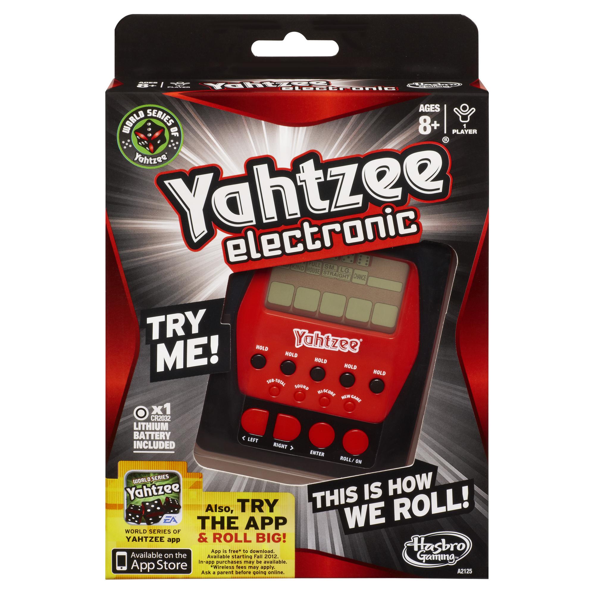 Hasbro Electronic Yahtzee Game, Multi Color