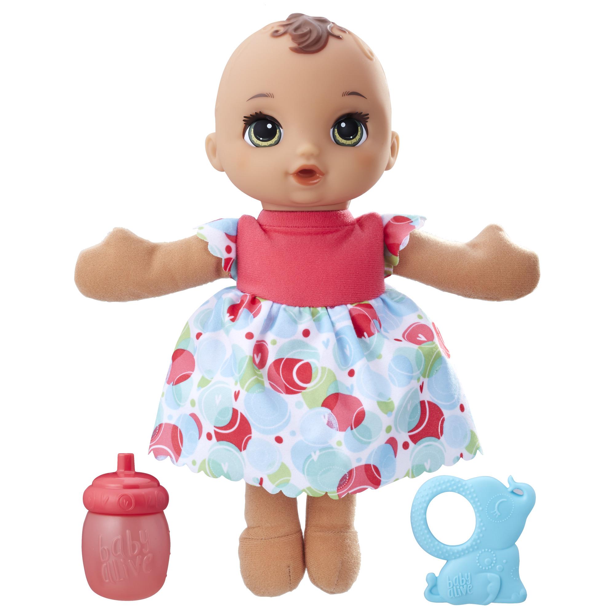 Baby Alive Lil' Slumbers (Brunette) PartNumber: 004W003608856001P KsnValue: 3608856 MfgPartNumber: B9721.AS0