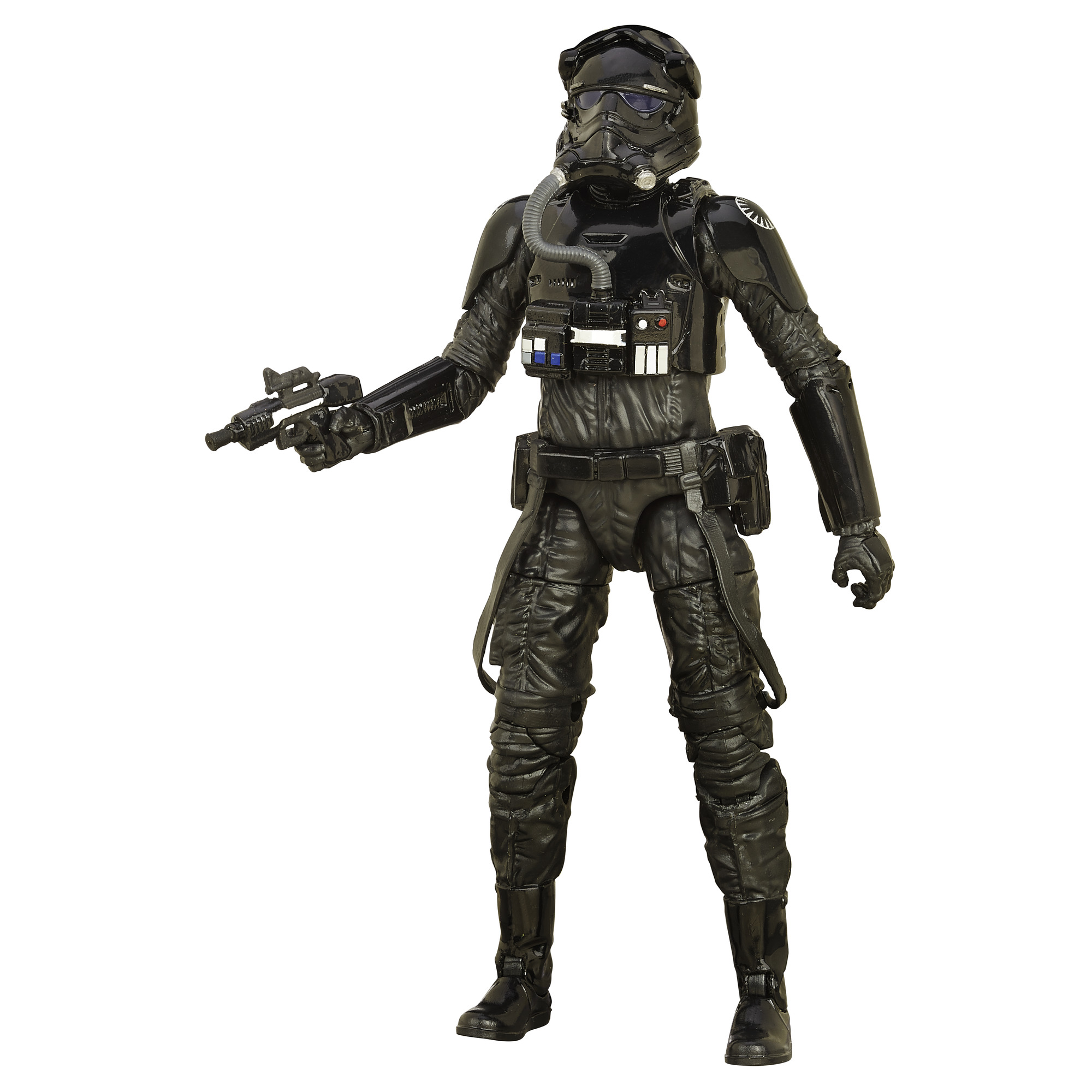 Disney Star Wars: The Force Awakens Black Series 6 Inch First Order TIE Fighter Pilot PartNumber: 004W007494876014P KsnValue: 7494876 MfgPartNumber: B4596AS00