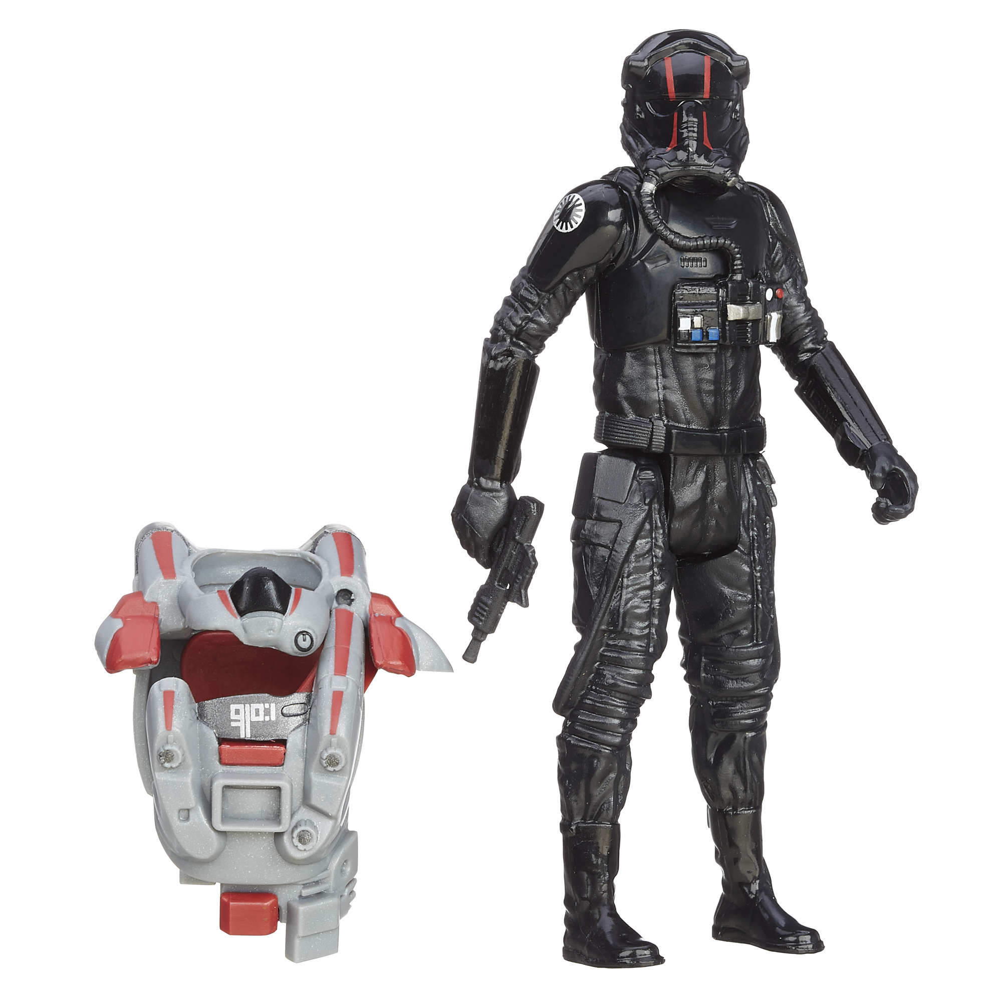 Hasbro Star Wars: The Force Awakens Space Mission Armor First Order TIE Fighter Pilot PartNumber: 004W007284758010P