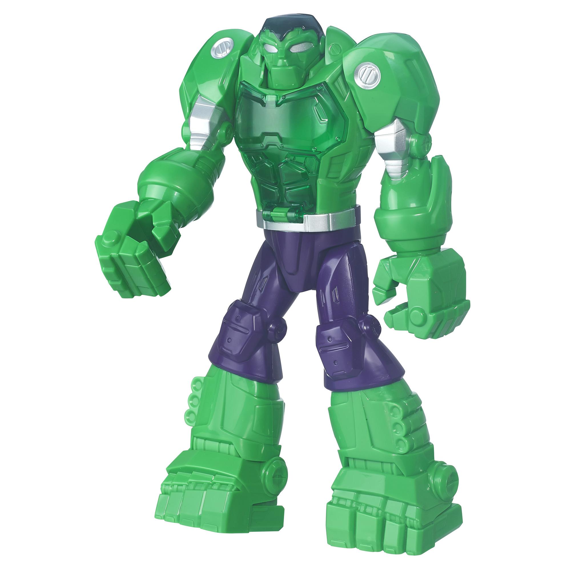 Playskool Heroes Marvel Super Hero Adventures Mech Armor Hulk PartNumber: 004W009003501003P