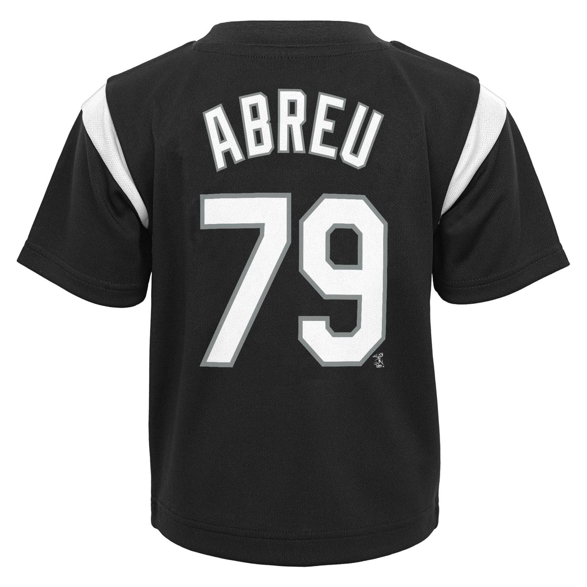 MLB Jose Abreu Boys' Graphic T-Shirt - Chicago White Sox, Size: Small