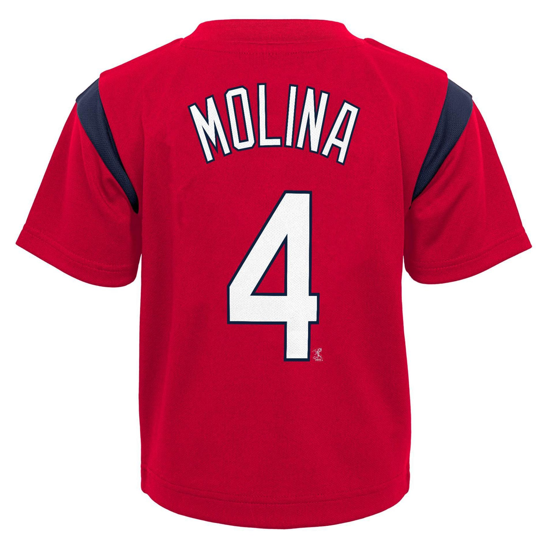 MLB Yadier Molina Boys' Graphic T-Shirt - St. Louis Cardinals, Size: Large