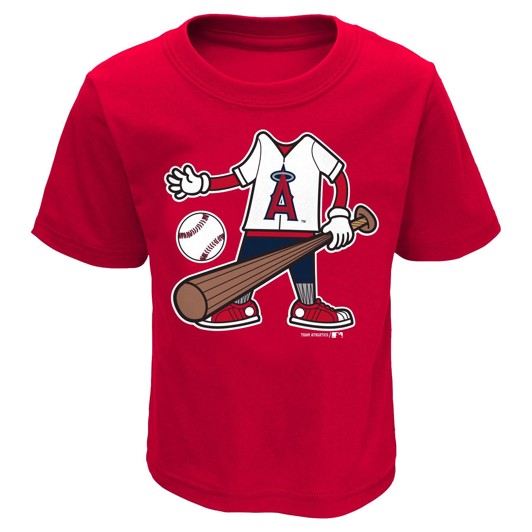 MLB Infant & Toddler Boy's T-Shirt - Los Angeles Angels of Anaheim PartNumber: 046VA88759512P MfgPartNumber: 34CFJ-22
