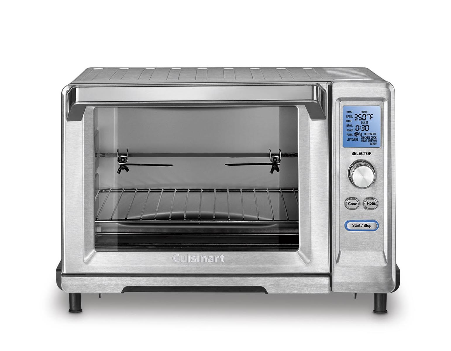 Cuisinart TOB-200 Rotisserie Convection Toaster Oven, Stainless Steel PartNumber: 00859386000P