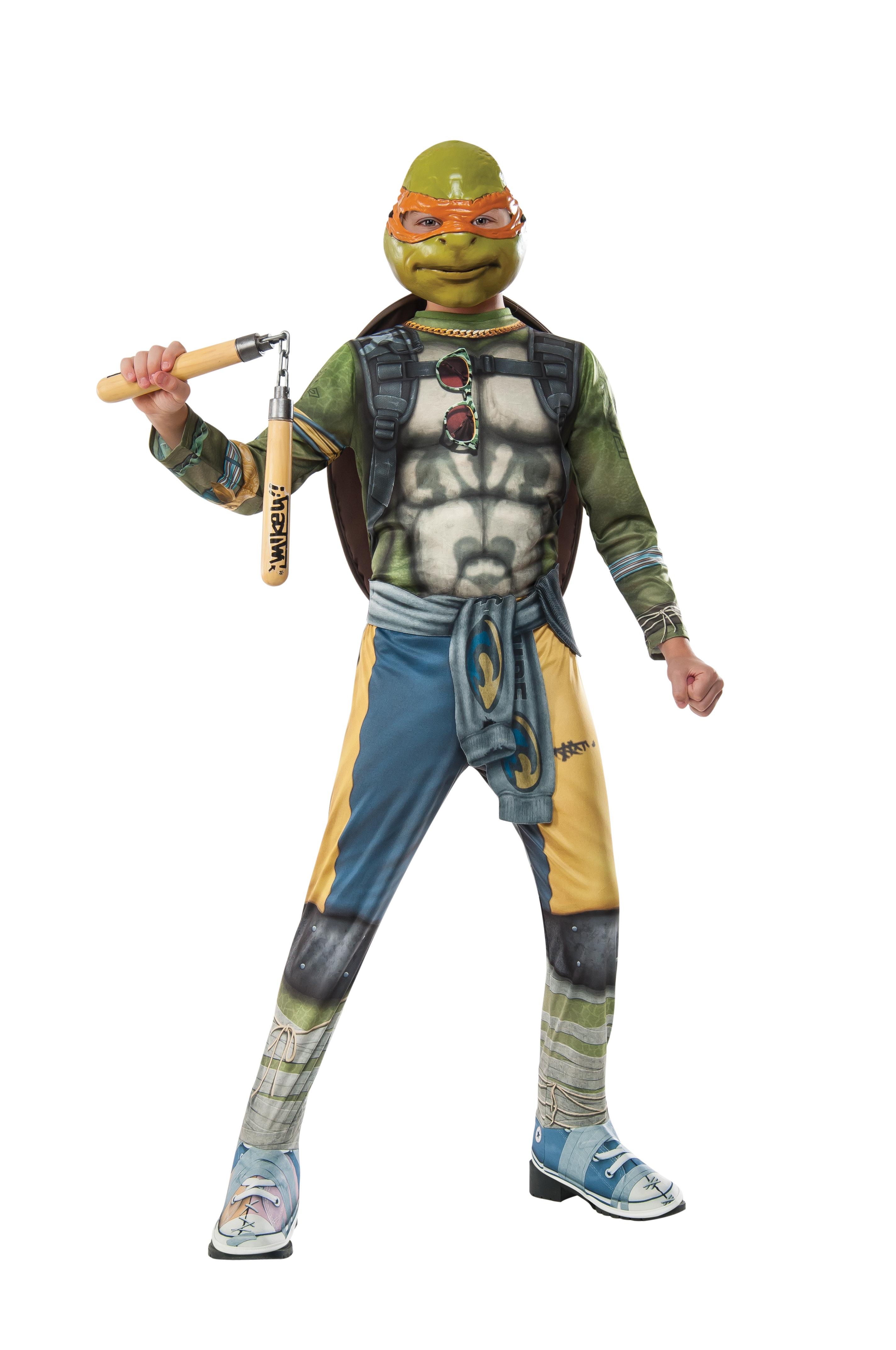TMNT Movie Michelangelo Halloween Costume PartNumber: 009VA90589612P MfgPartNumber: 620798