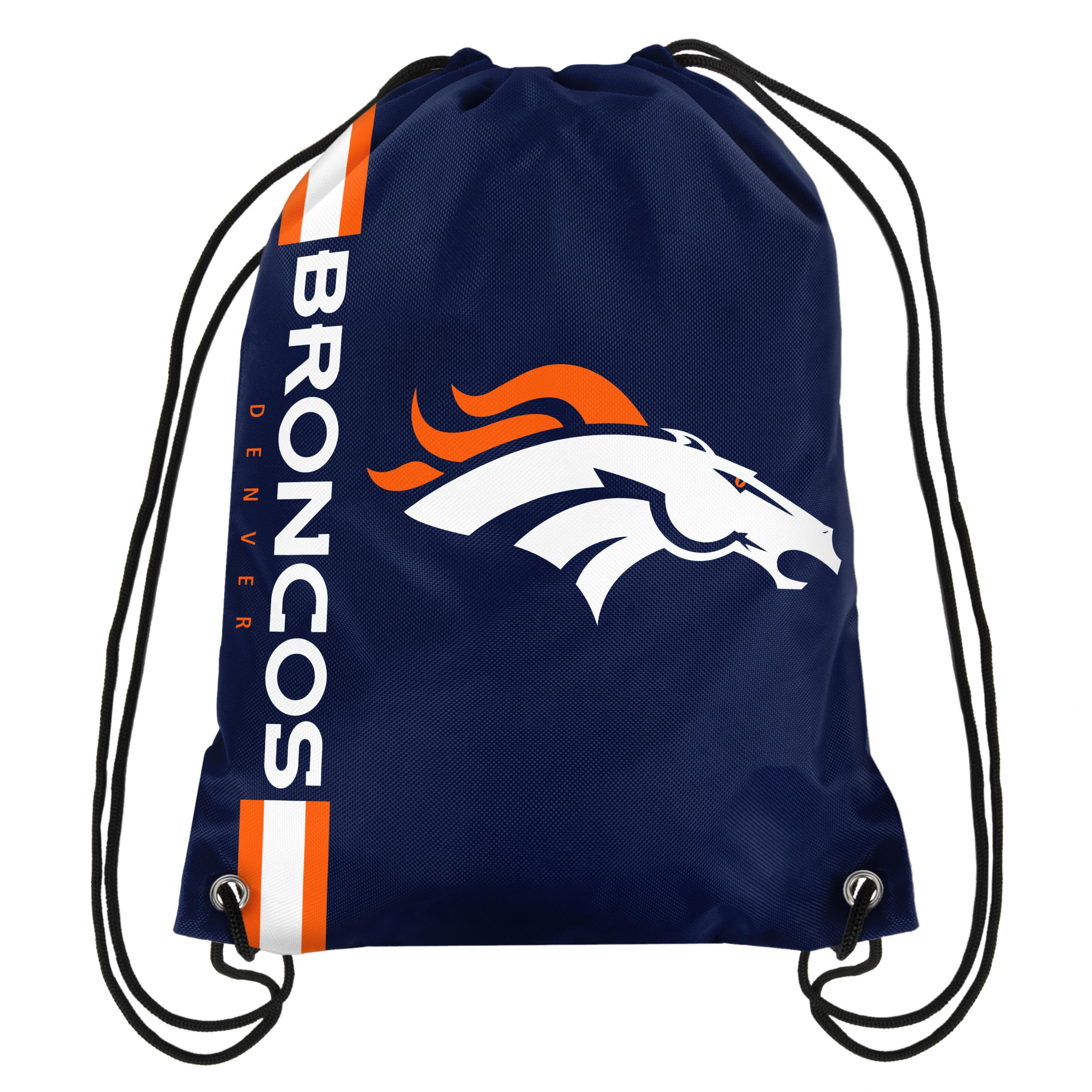 NFL Denver Broncos Drawstring Bag