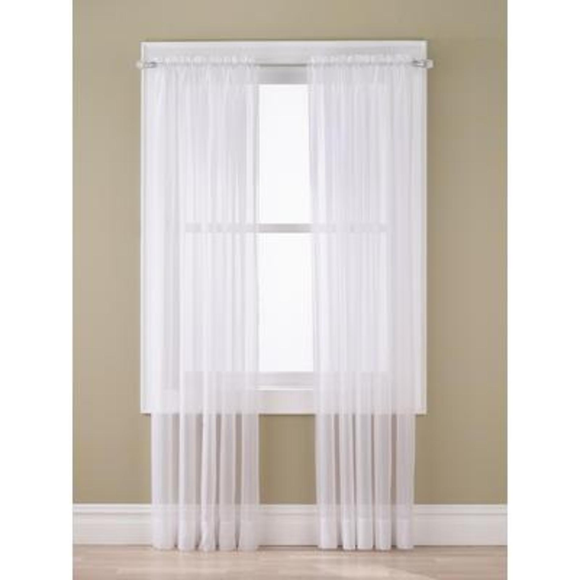 Sheer voile window panel for Window voiles