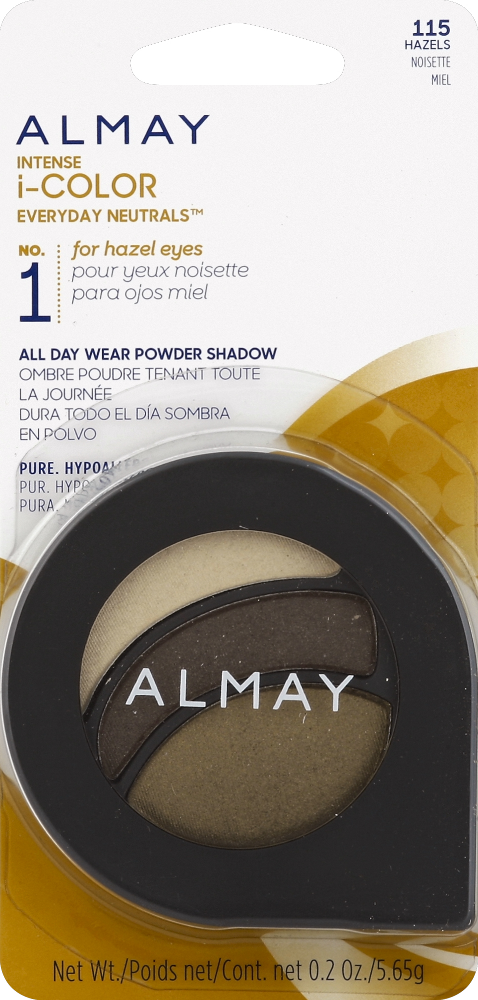 Almay Intense i-Color Everyday Neutrals Eye Shadow, Hazels 0.20 oz PartNumber: 015W008148356001P