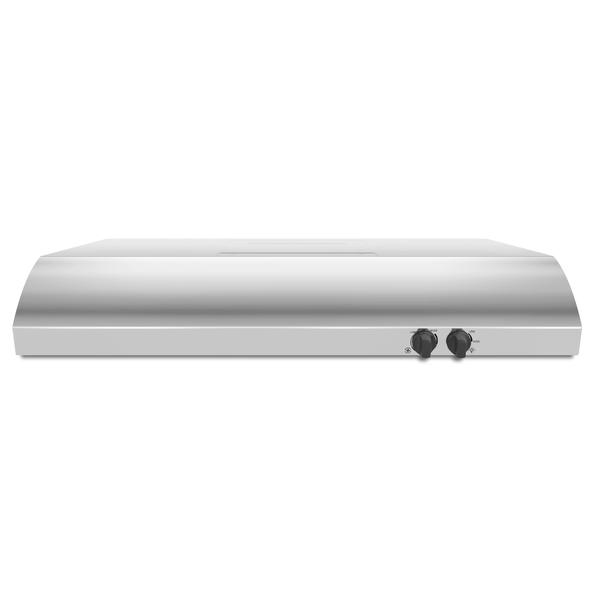 """Whirlpool UXT4236ADS  36"""" Range Hood w/ the FIT System - Stainless Steel"""