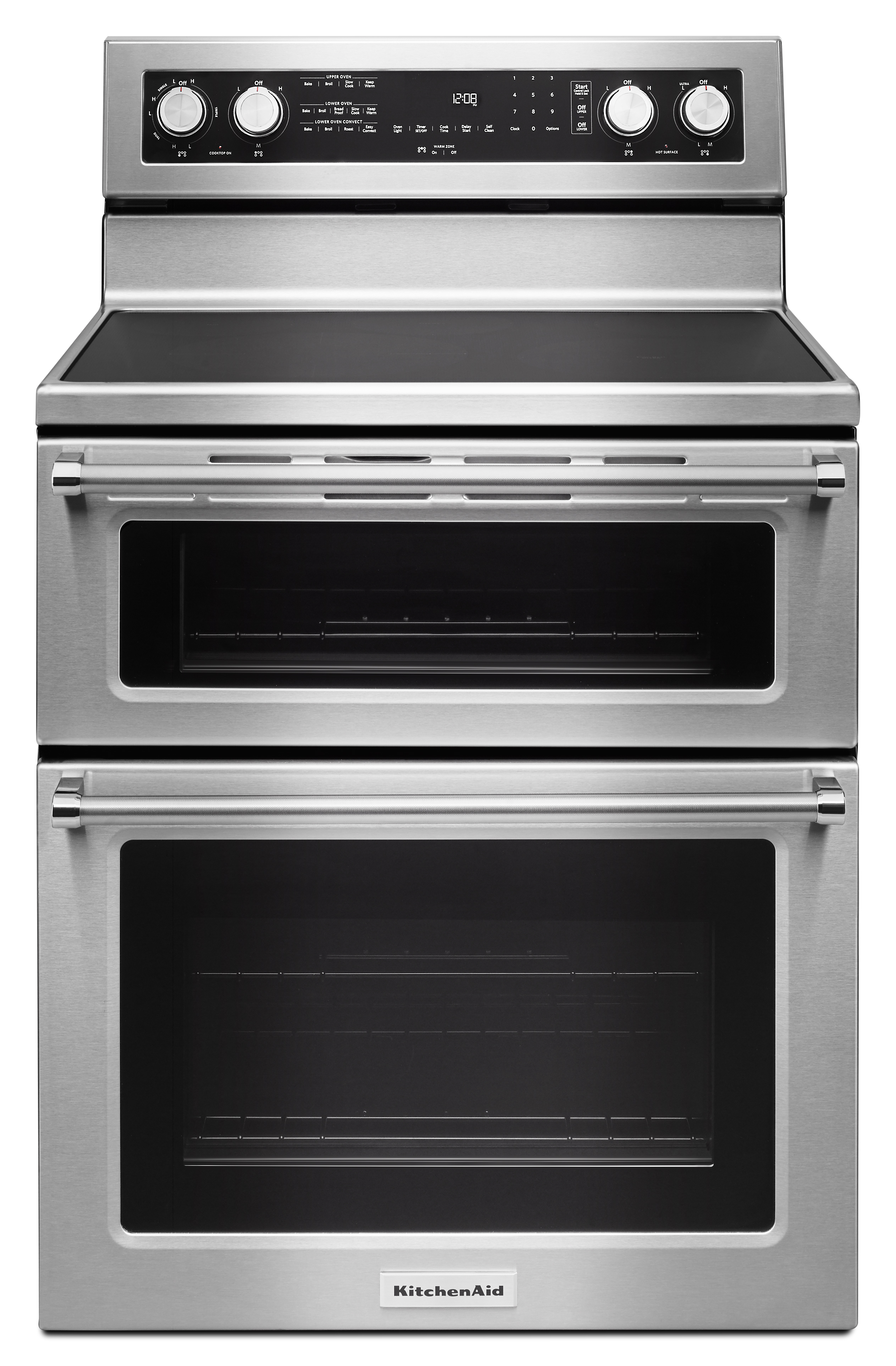 Superb KitchenAid KFED500ESS 6.7 Cu. Ft. Electric Double Oven Range   Stainless  Steel