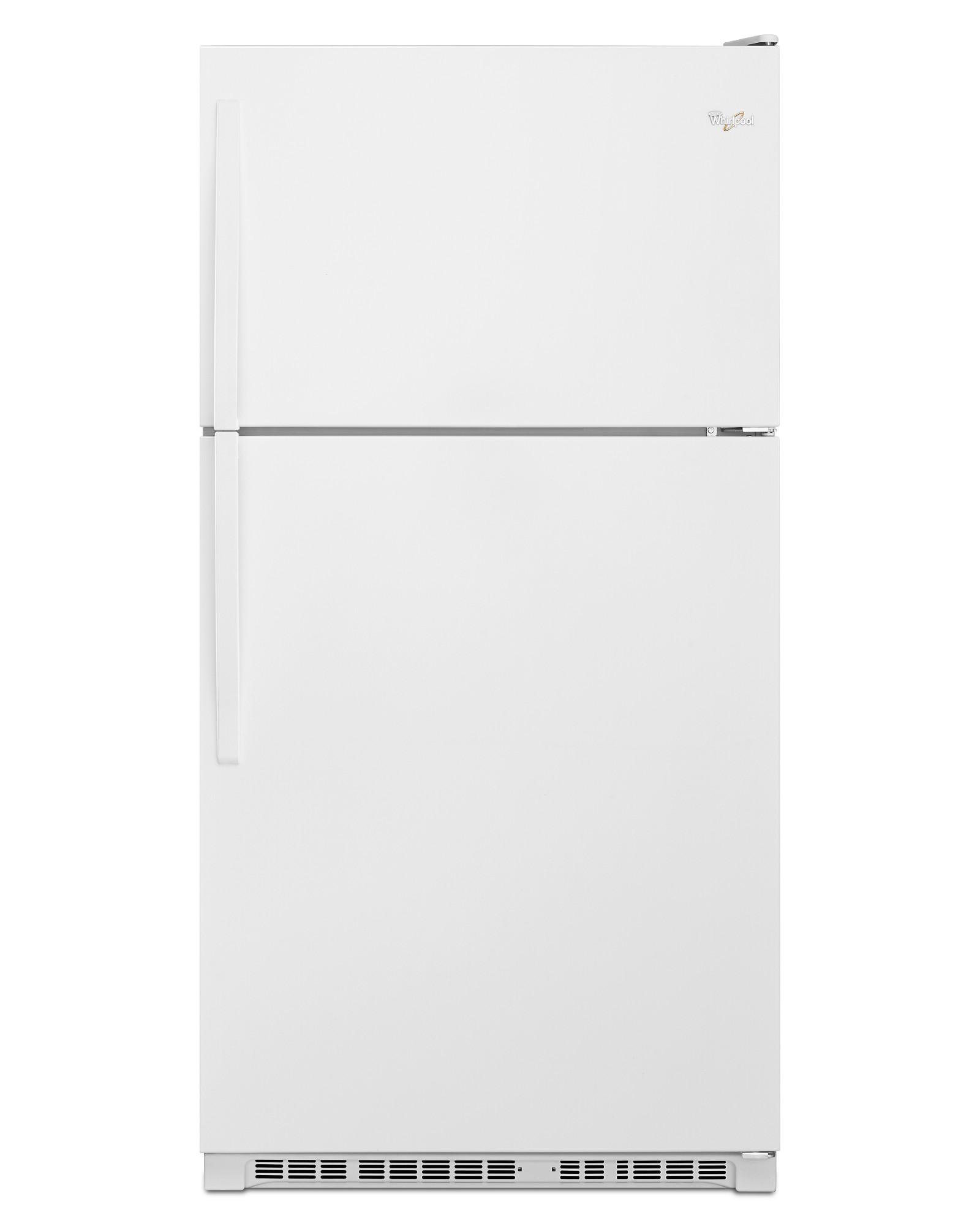 Whirlpool Wrt311fzdw 20 5 Cu Ft Top Freezer Refrigerator