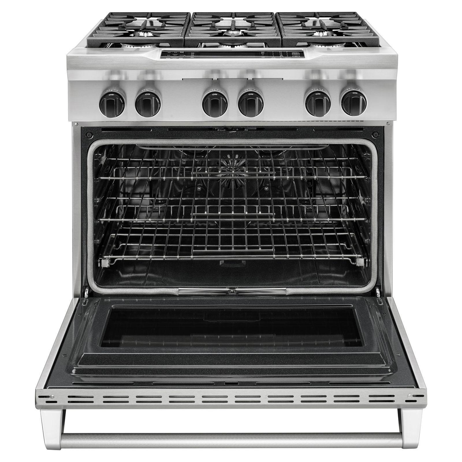 Delicieux KitchenAid KDRS467VSS Pro Style 5.1 Cu. Ft. Dual Fuel Range   Stainless  Steel