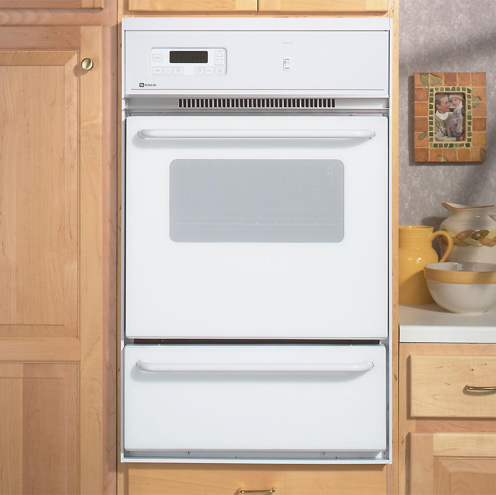 Maytag Cwg3100aae 24 Single Standard Clean Gas Wall Oven