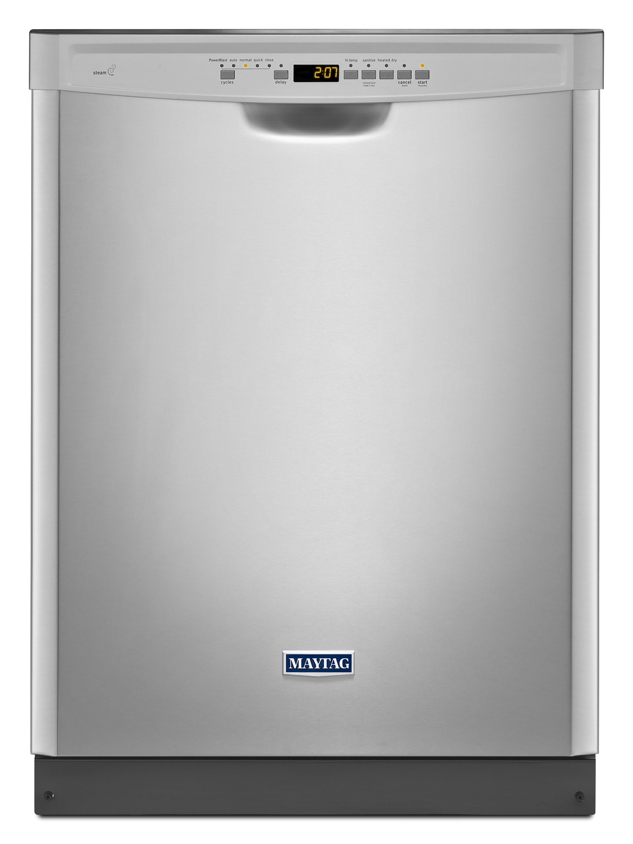 "Maytag MDB4949SDZ 24"""" Built-In Large Capactiy Dishwasher with Stainless Steel Tub - Fingerprint Resistant Stainless Steel"