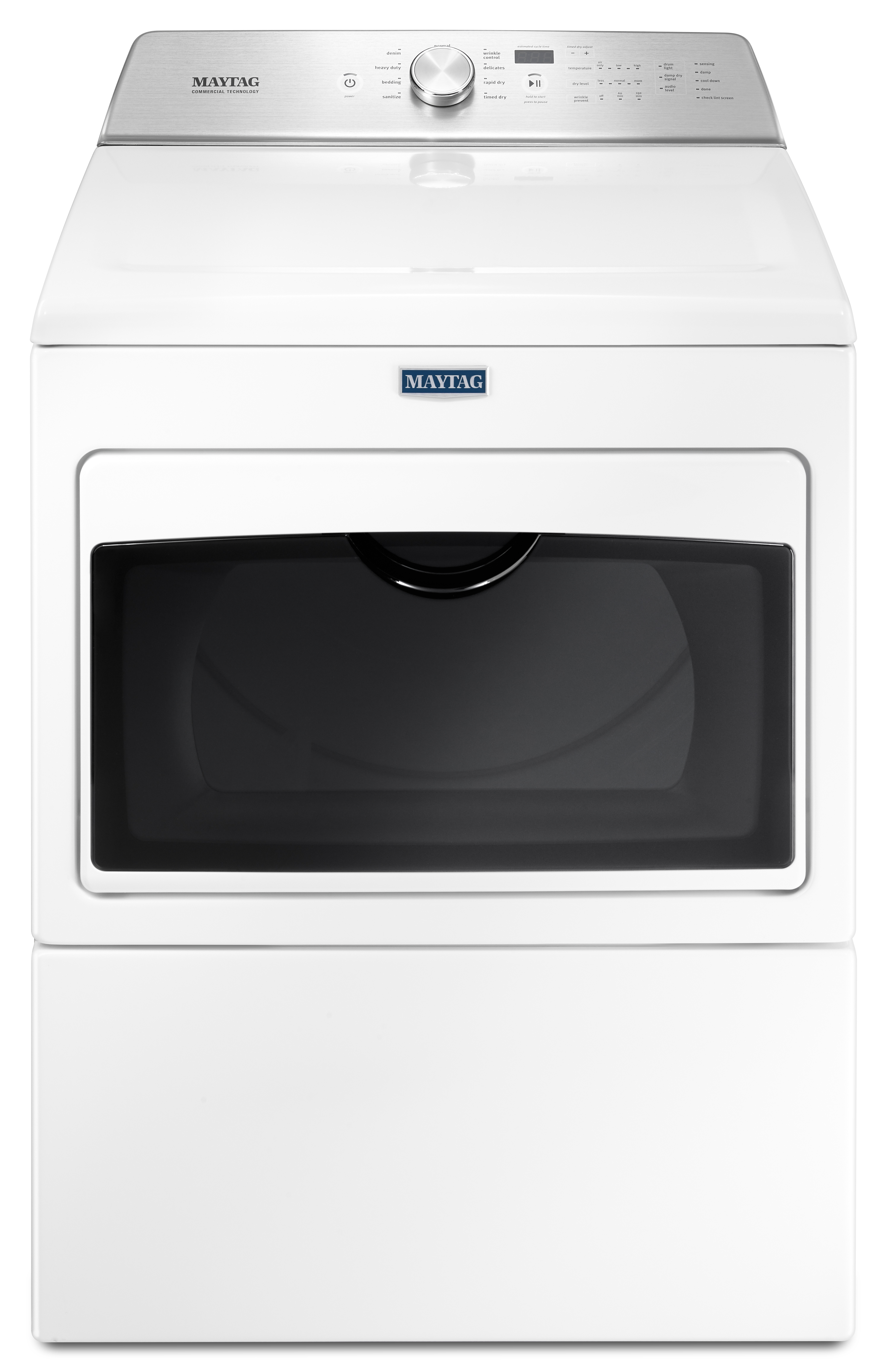 maytag medb765fw large capacity electric dryer with. Black Bedroom Furniture Sets. Home Design Ideas