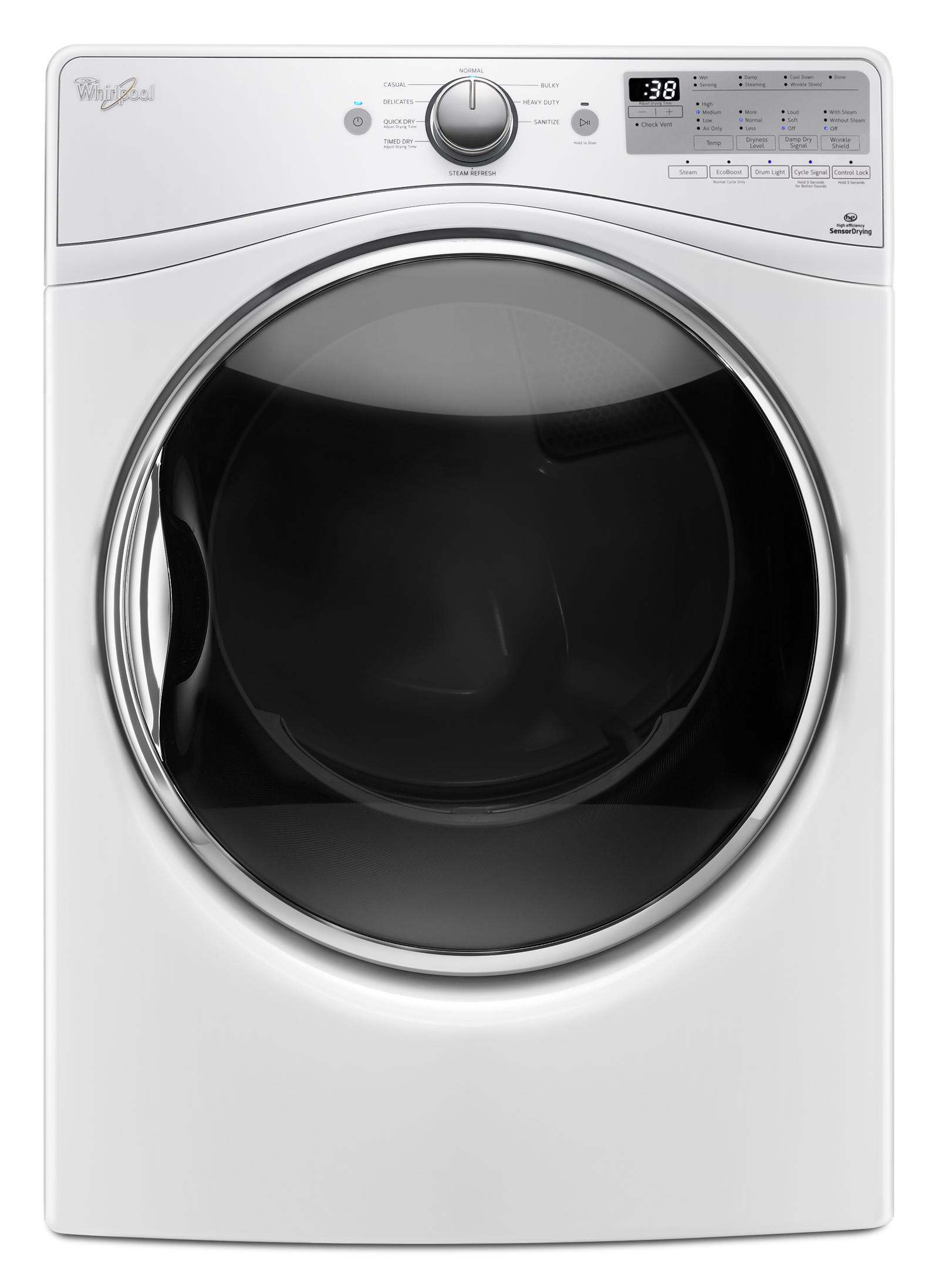 Whirlpool WGD90HEFW 7.4 cu. ft. Gas Dryer - White