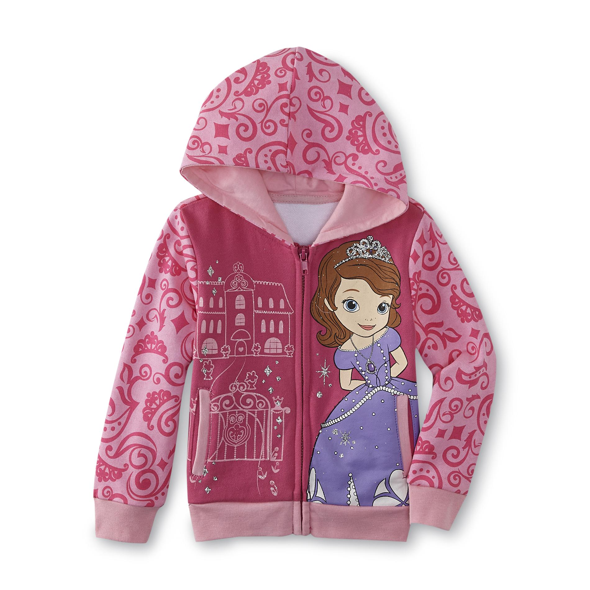 Disney Baby Sofia the First Toddler Girl's Hoodie Jacket