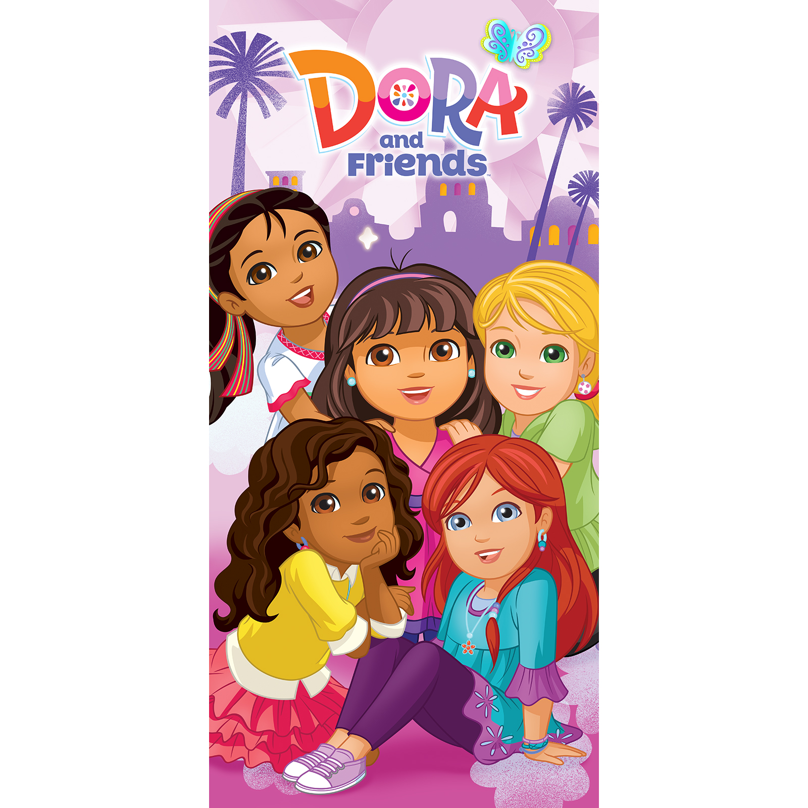 Image of Nickelodeon Dora & Friends Friendship is Magic Beach Towel