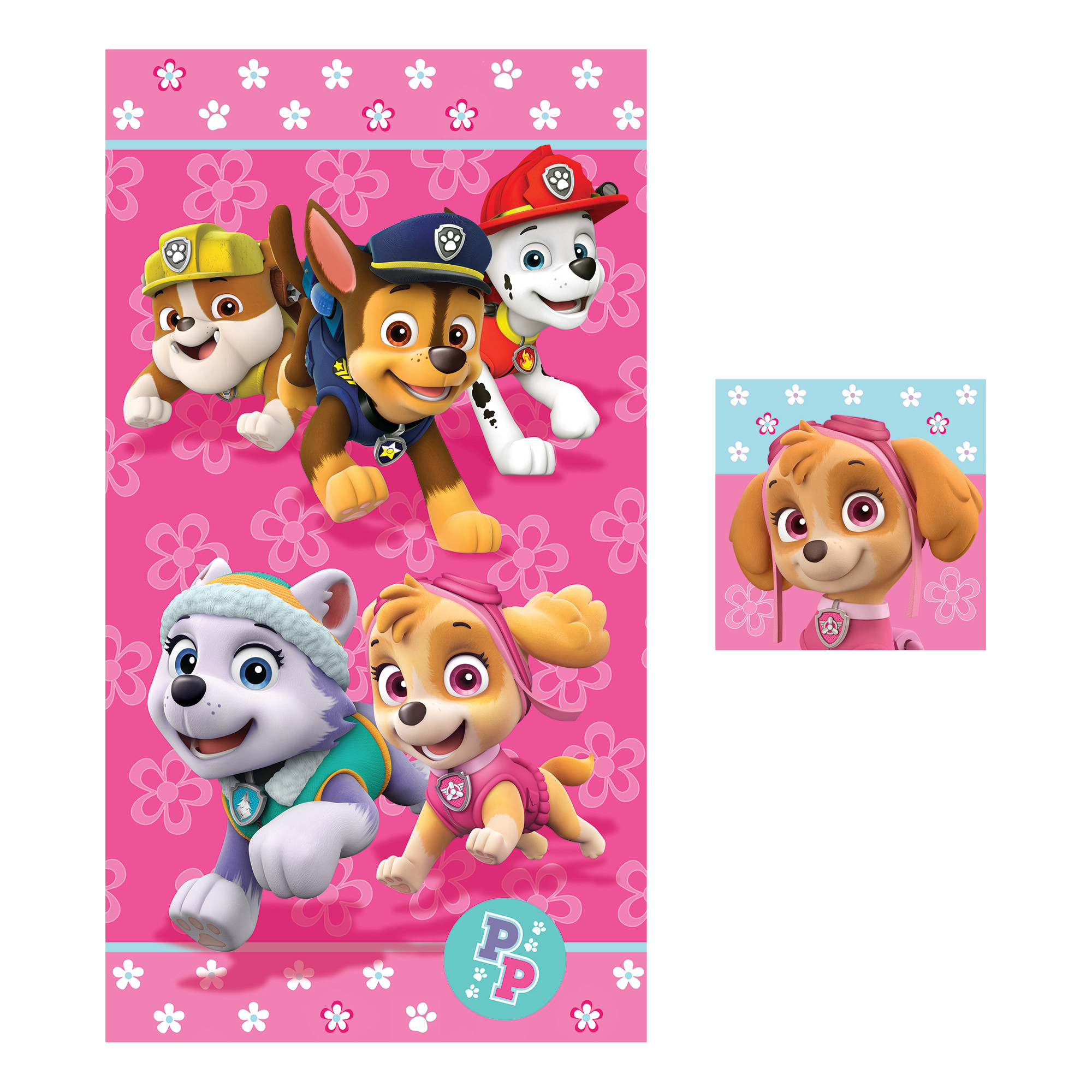 Image of Nickelodeon 2-Piece Towel Set - Paw Patrol