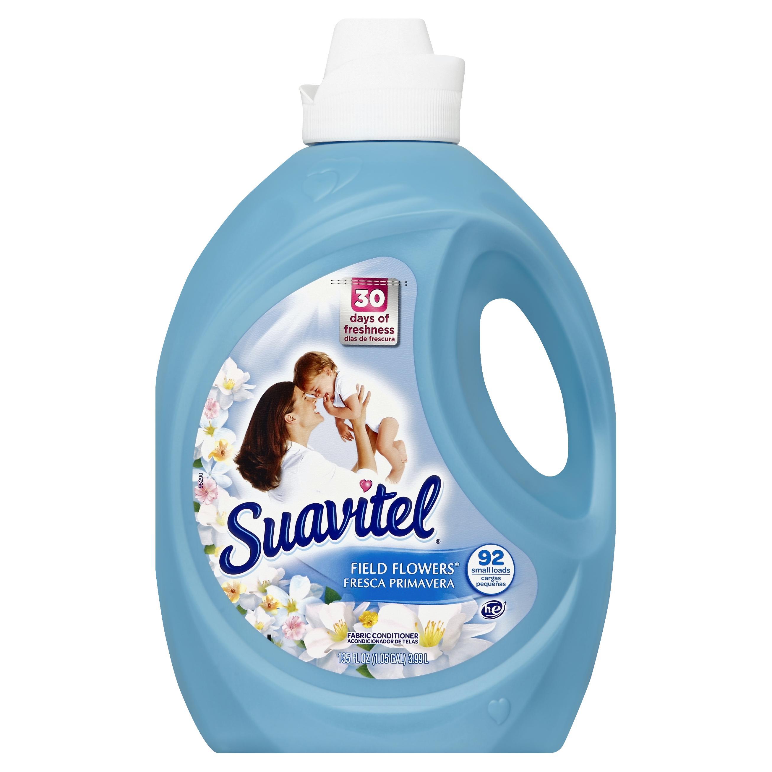 Suavitel Fabric Conditioner Field Flowers 135 fl oz (1.05 gl) 3.99 lt im test