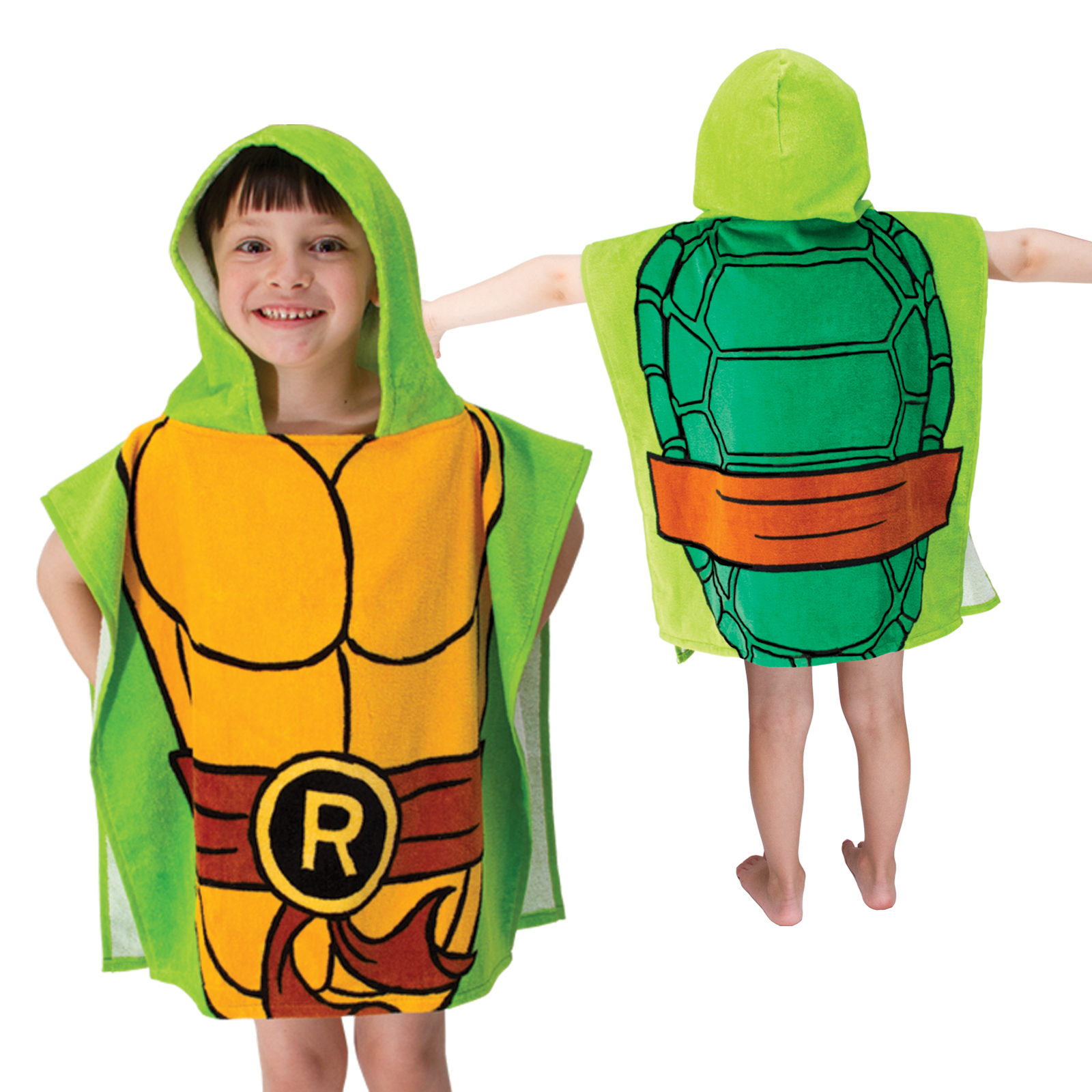 Nickelodeon Teenage Mutant Ninja Turtles Hooded Poncho Towel