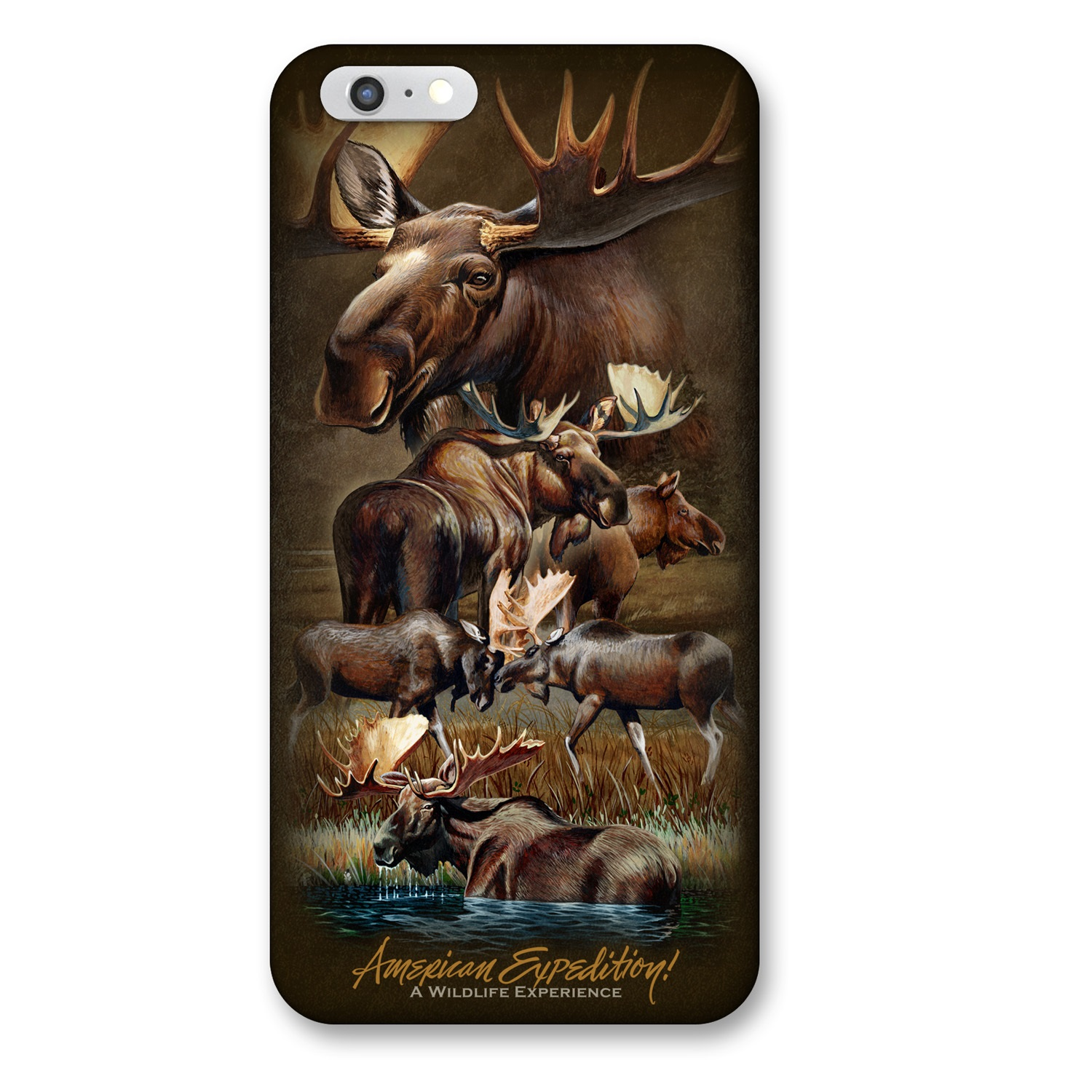 iPhone 6 Cover - Moose Collage