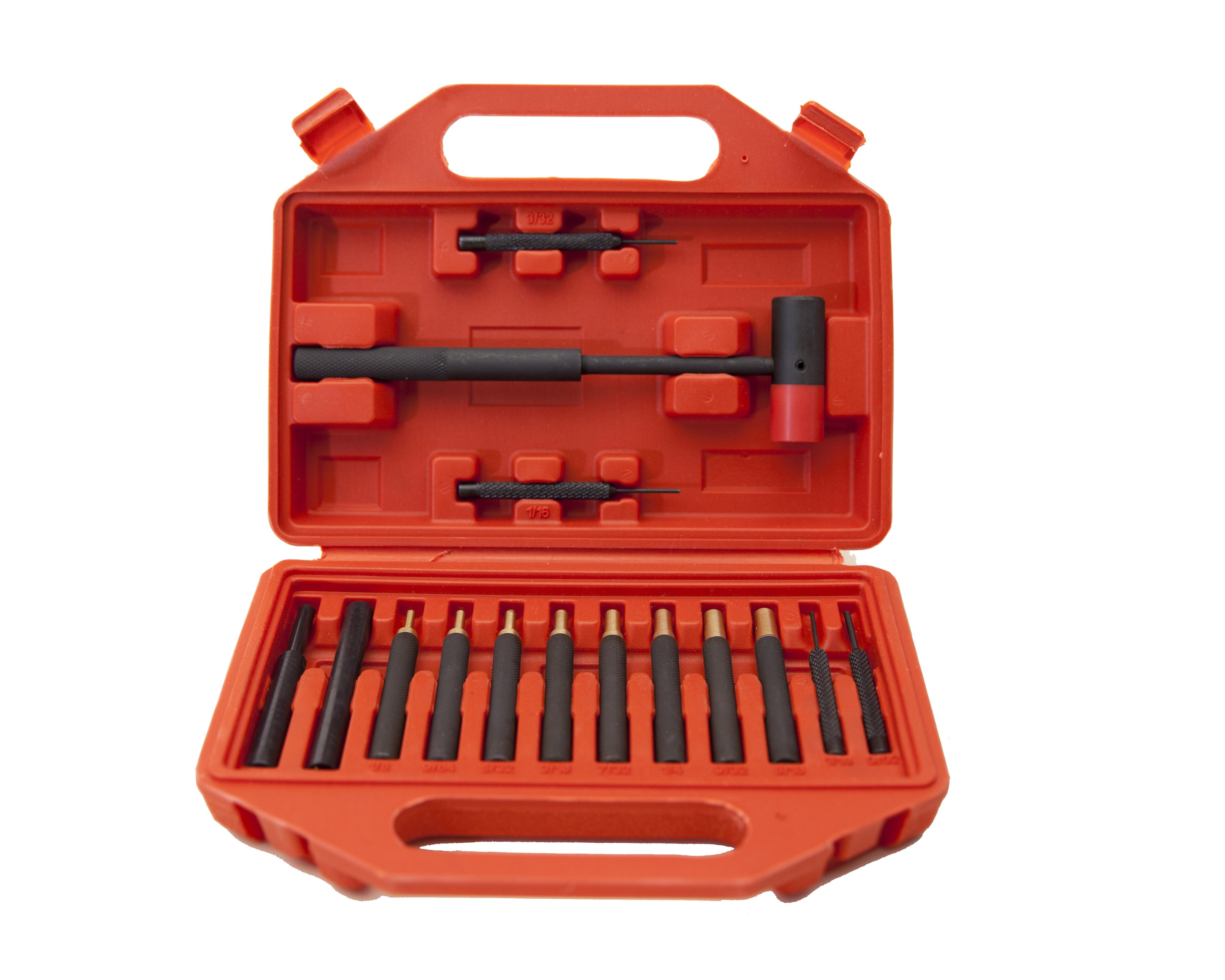 Winchester 15 Piece Brass/Steel Punch Set