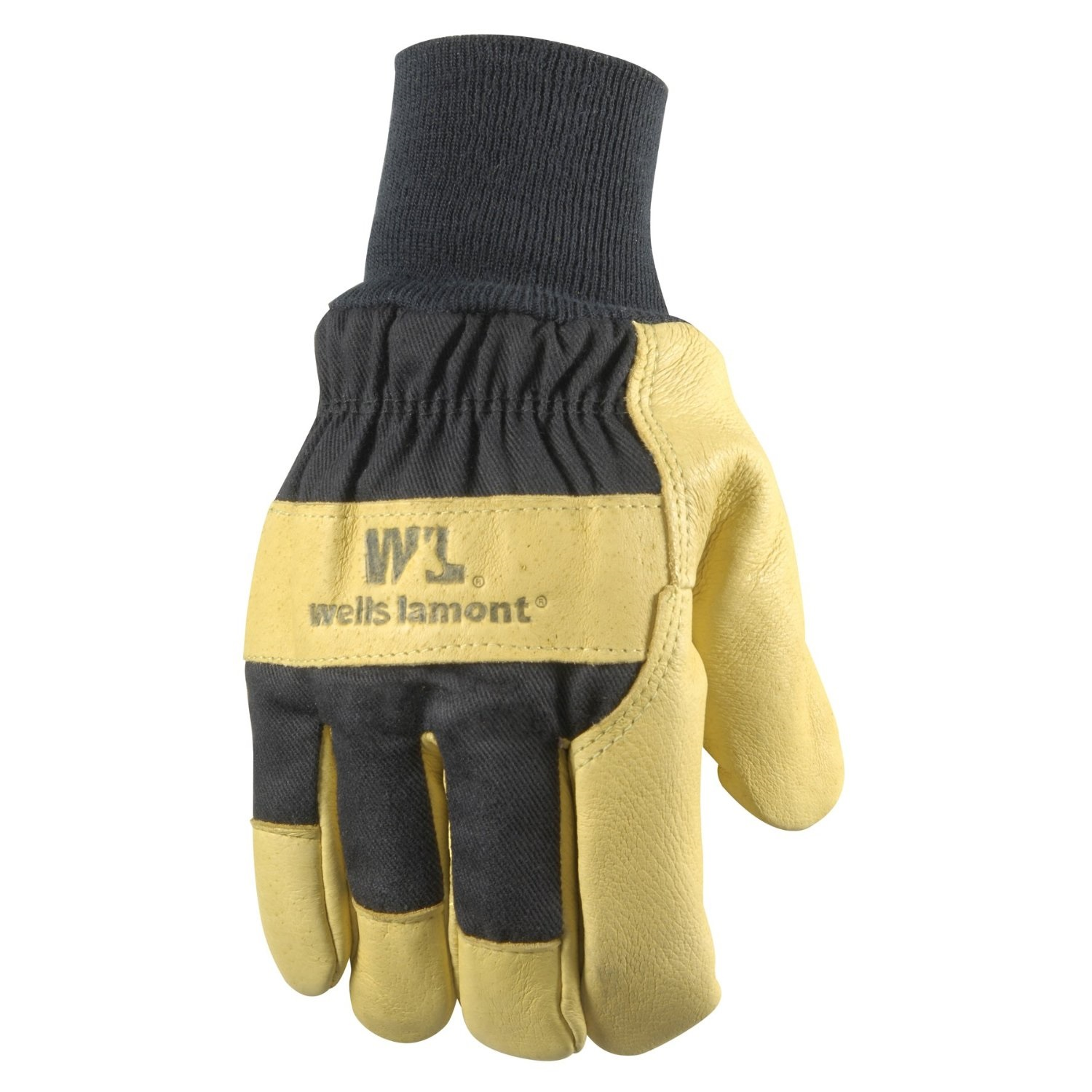 Wells Lamont Insulated Grain Pigskin Lined Leather Palm Gloves/Men-XLrg