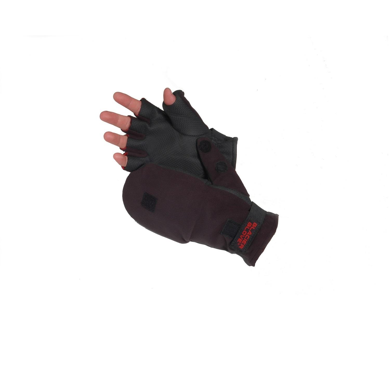 Glacier Glove Alaska River Large Flip Mitt Glove, Black PartNumber: 089V007205782000P KsnValue: 7205782 MfgPartNumber: 4010702