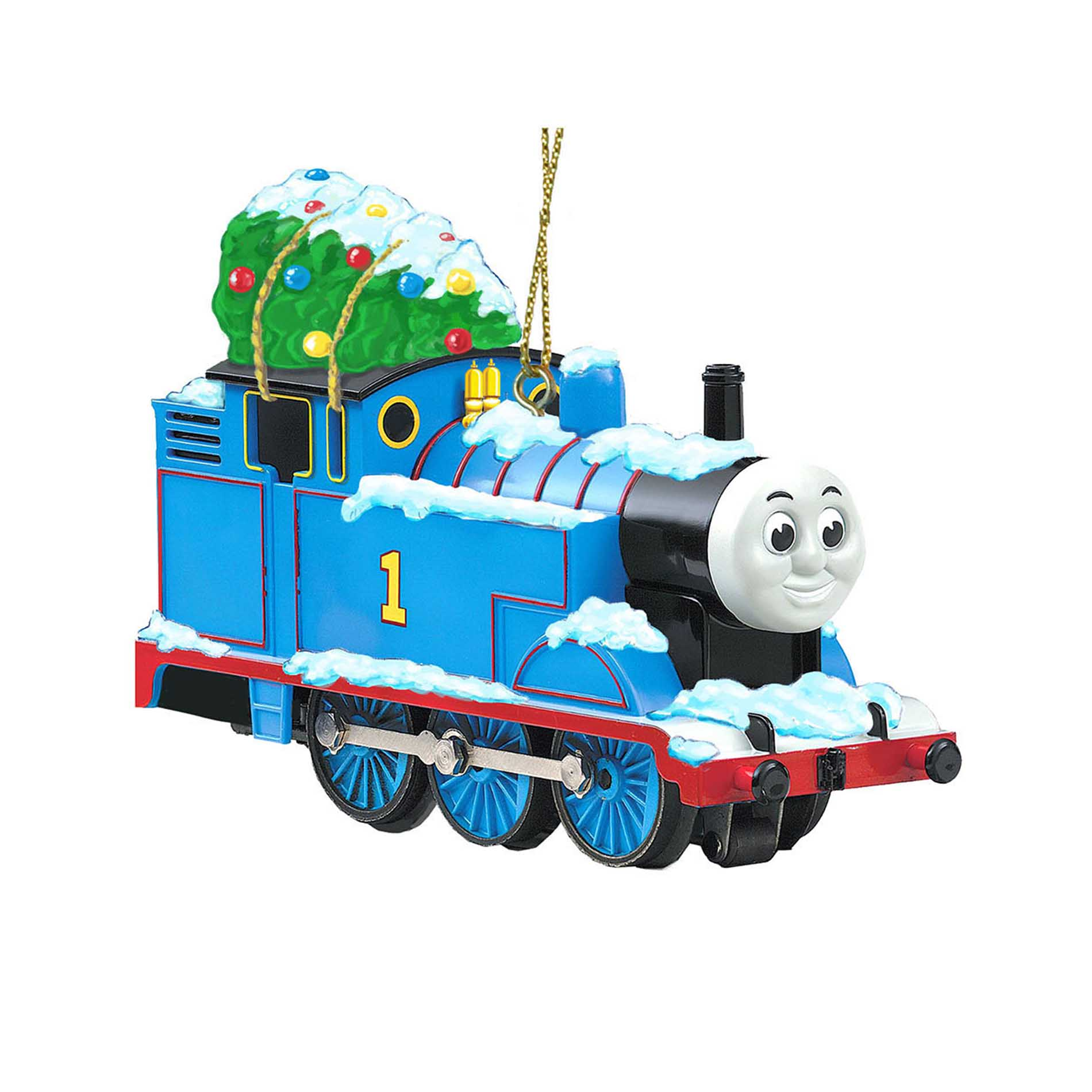 Thomas The Tank Engine Christmas Ornaments