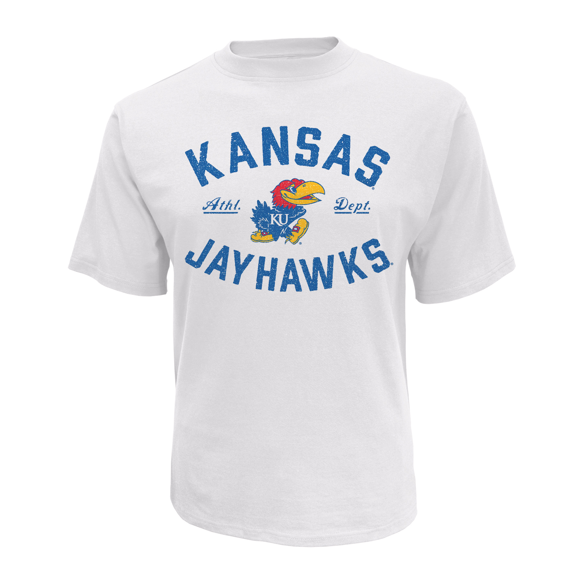 petite NCAA Men's Short-Sleeve T-Shirt - Kansas Jayhawks, Size: XL