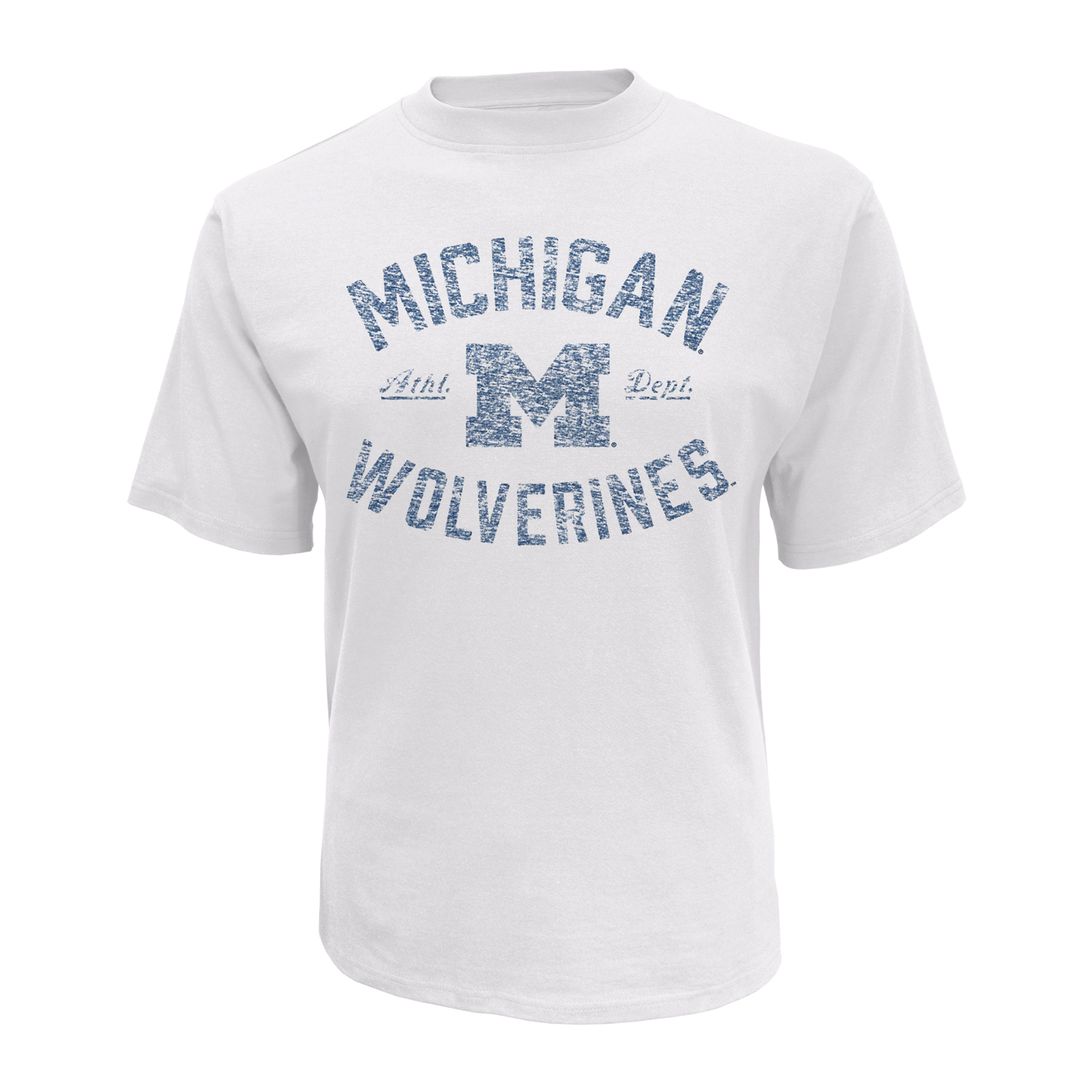 petite NCAA Men's Short-Sleeve T-Shirt - Michigan Wolverines, Size: XL