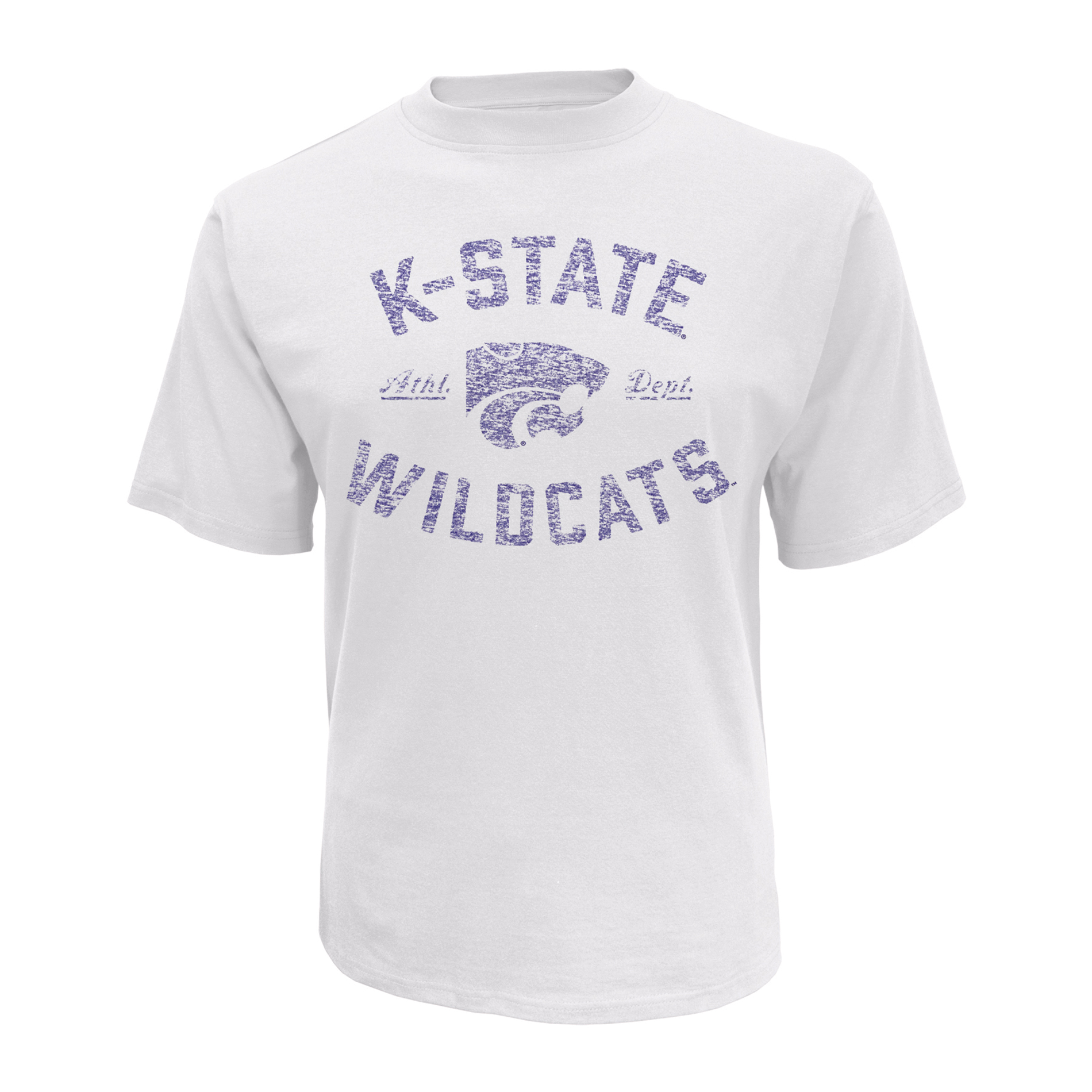 petite NCAA Men's Short-Sleeve T-Shirt - Kansas State Wildcats, Size: XL