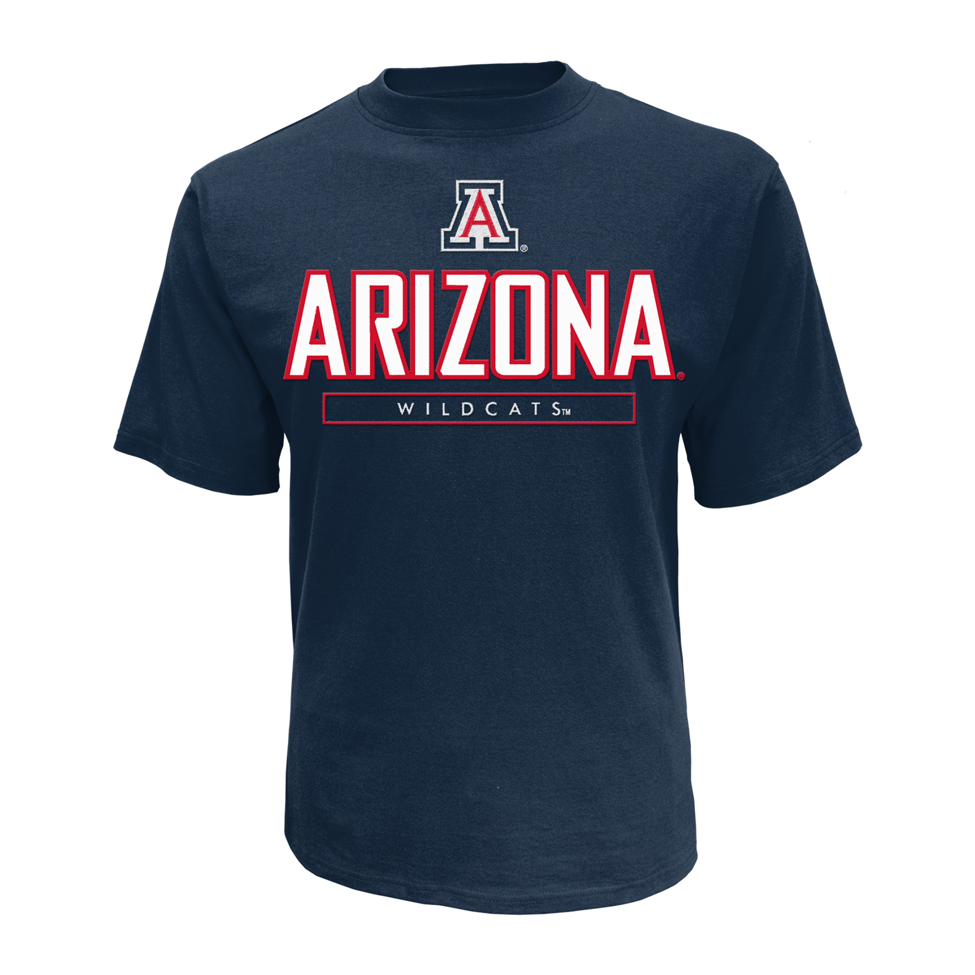 petite NCAA Men's Short-Sleeve Applique T-Shirt - Arizona Wildcats, Size: XL