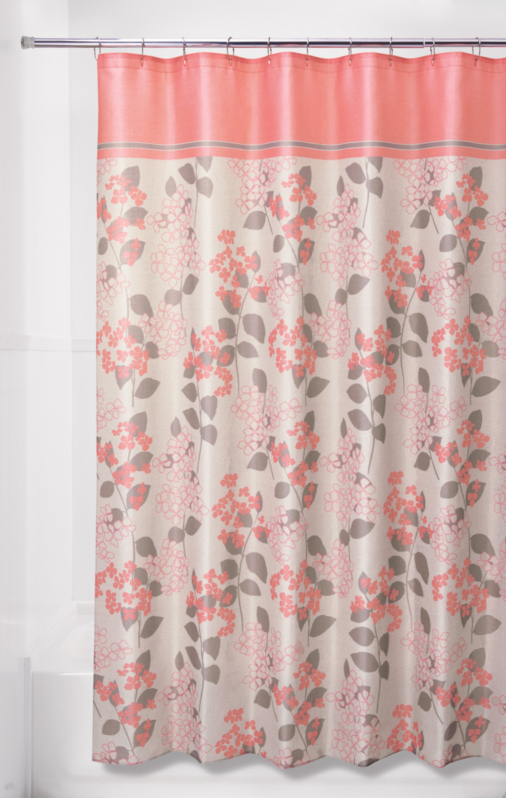 Colormate Floral Shower Curtain