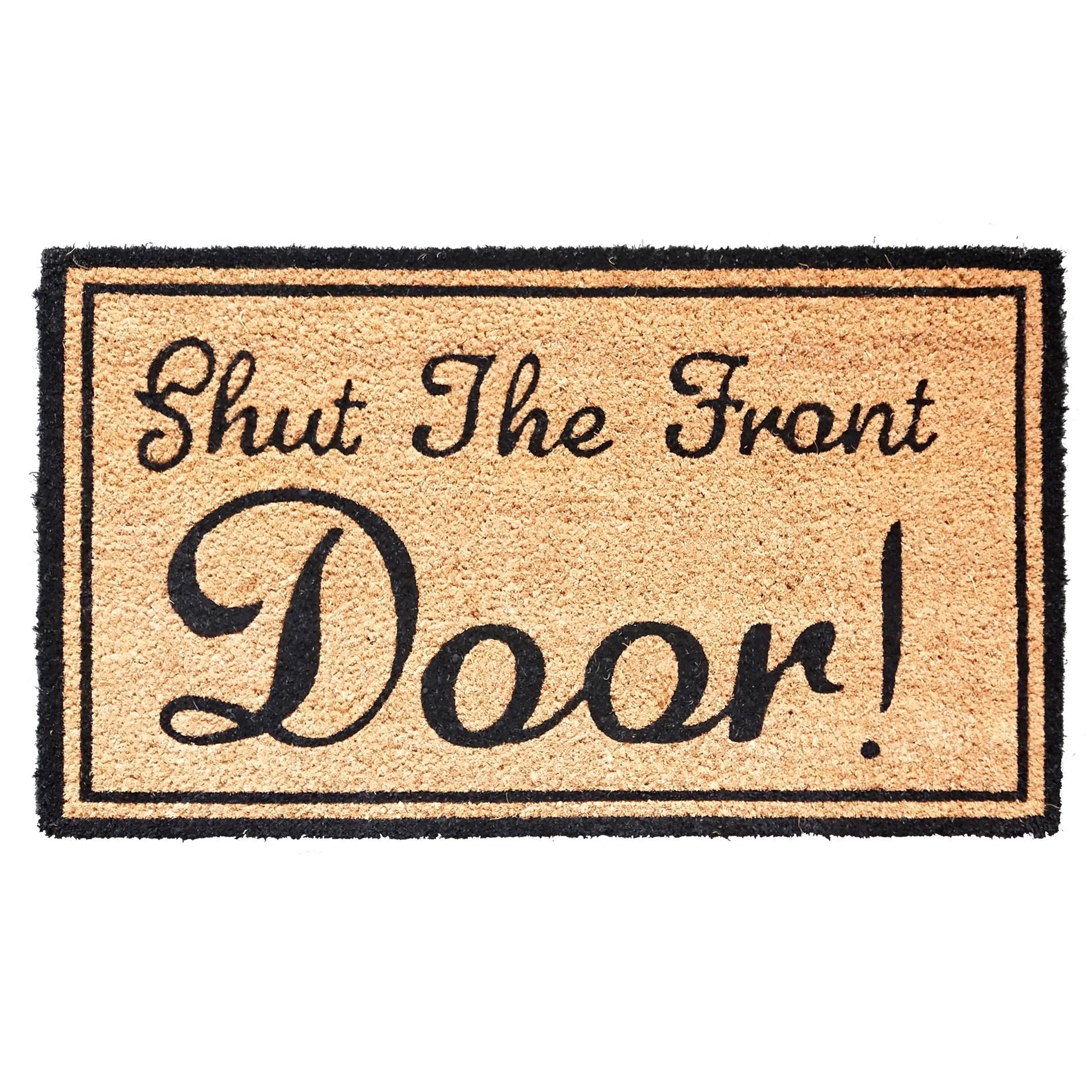Image of Allure Shut The Front Door Mat - 1.5 x 2.5