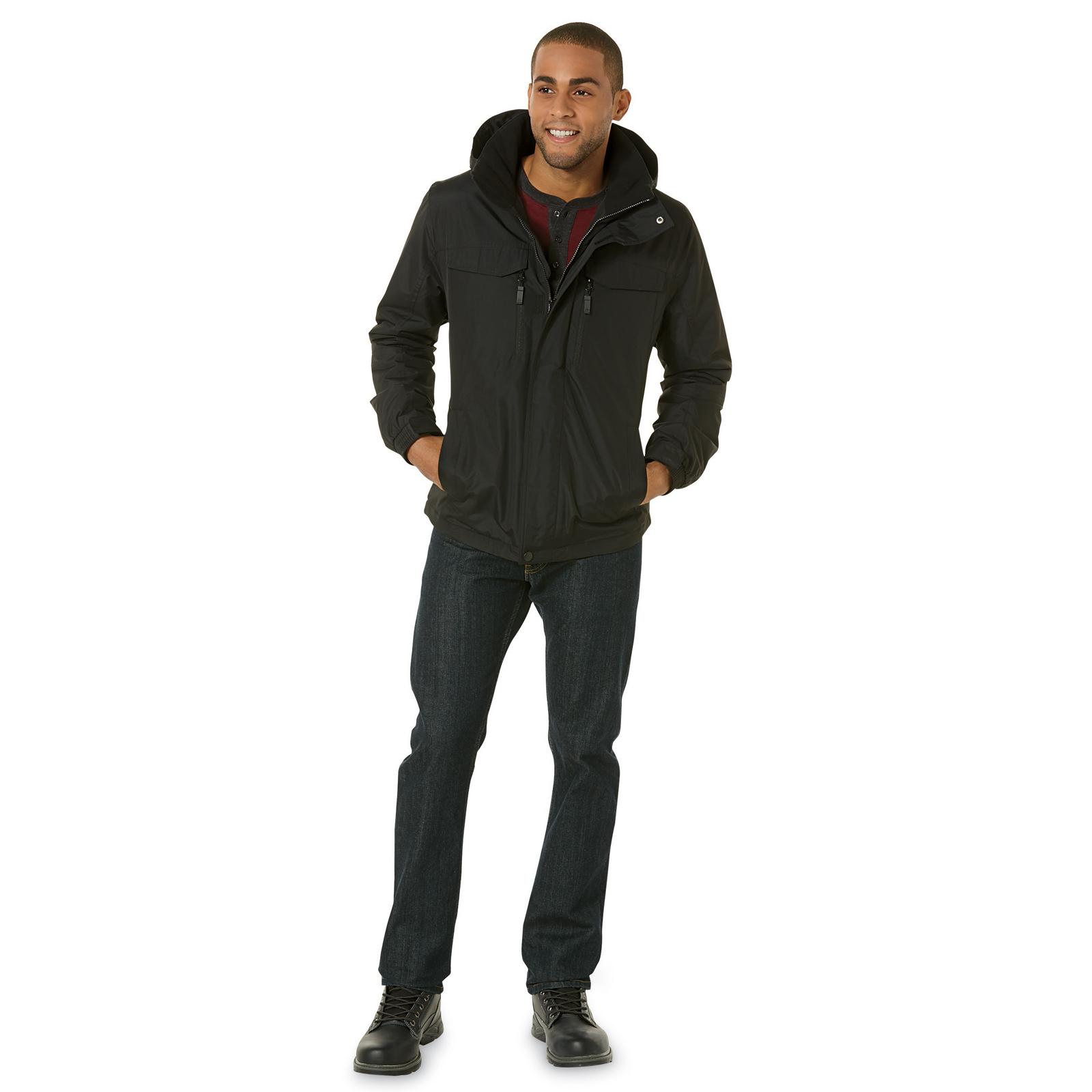 Athletech Men's Hooded Dozer Jacket