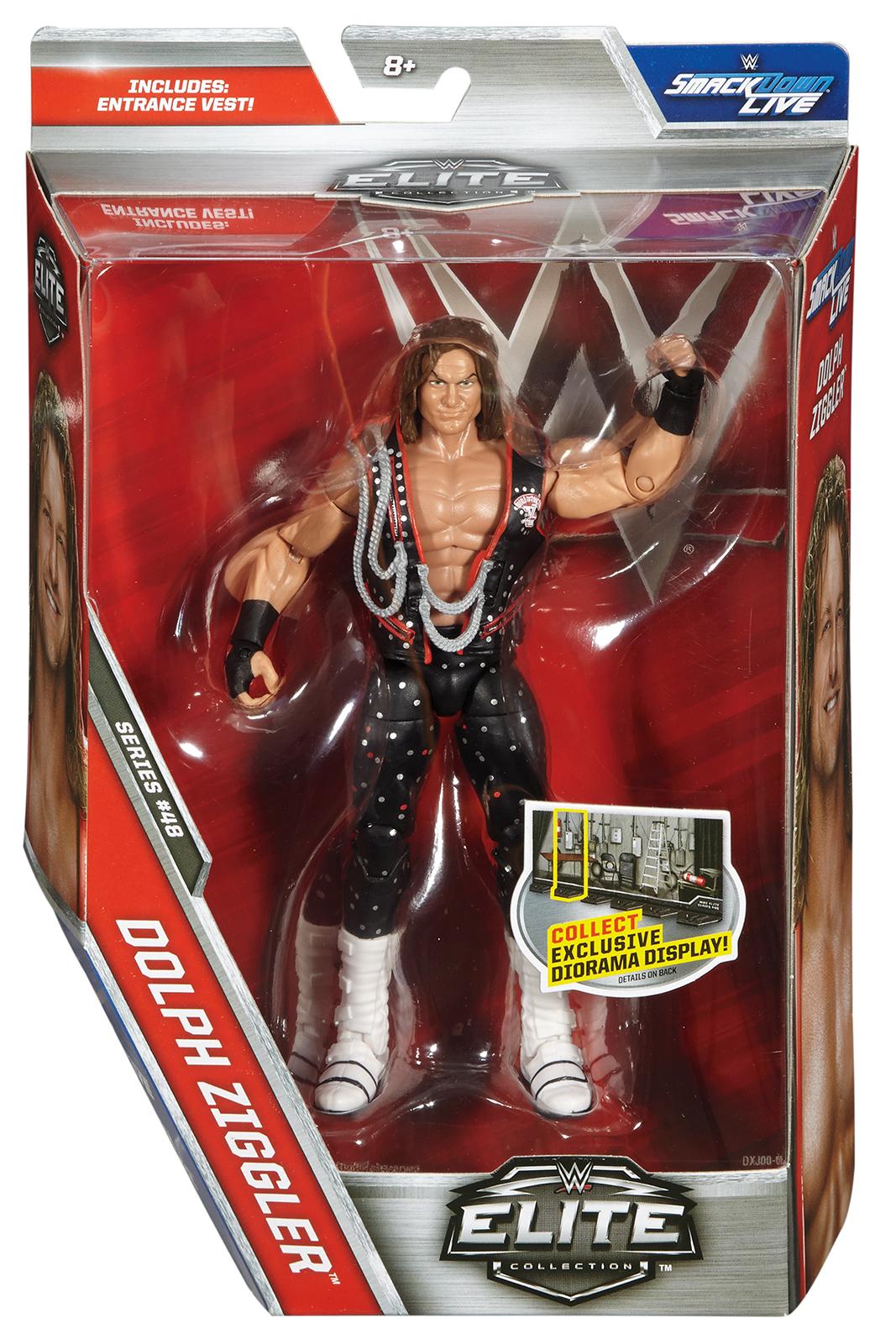WWE Dolph Ziggler - WWE Elite 48 Toy Wrestling Action Figure PartNumber: 05221028000P KsnValue: 8902932 MfgPartNumber: ELITE48-02