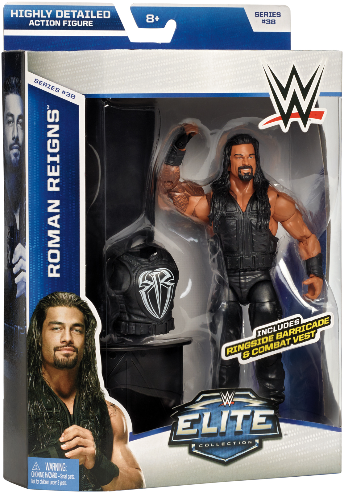 WWE Roman Reigns - WWE Elite 38 Toy Wrestling Action Figure
